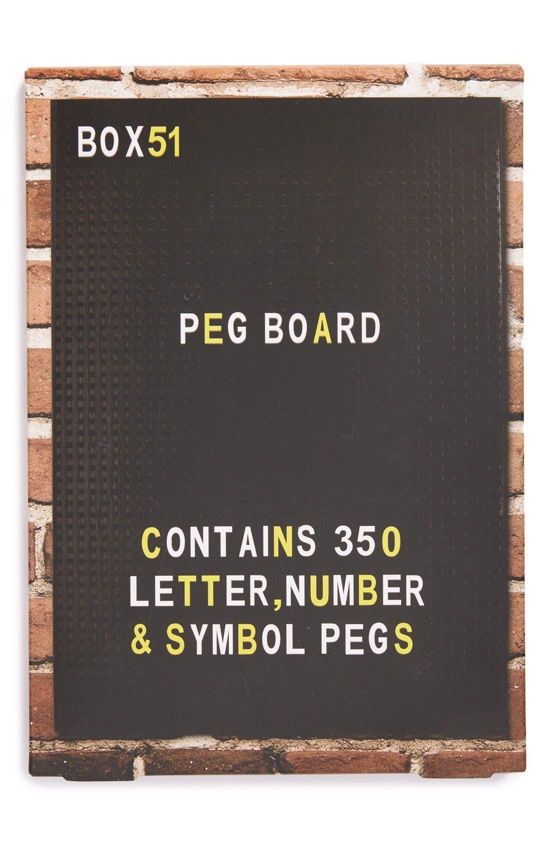 PALADONE,                             Box 51 Peg Board,                             Main thumbnail 1, color,                             001
