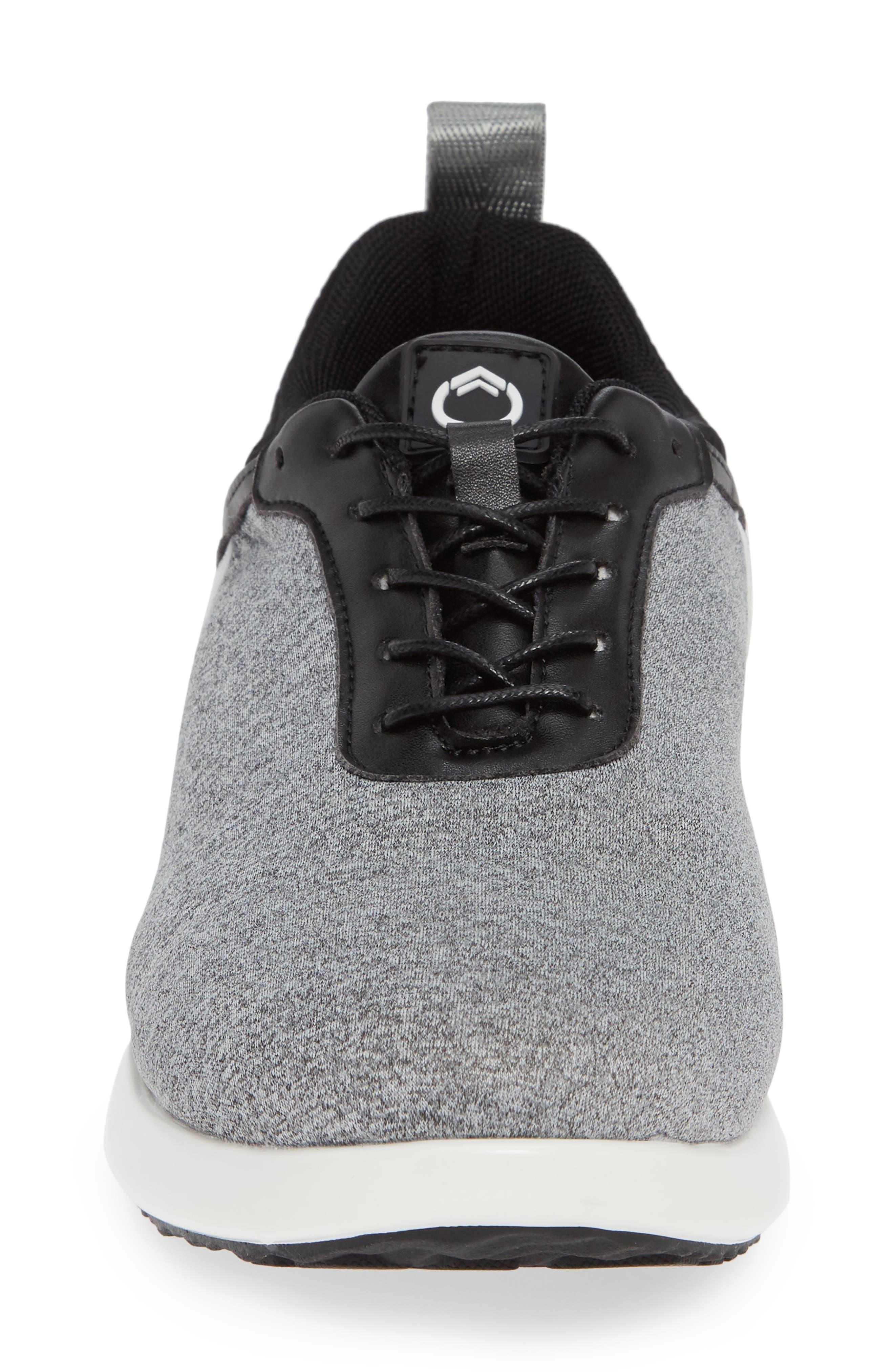 Avalon Sneaker,                             Alternate thumbnail 4, color,                             GREY FABRIC