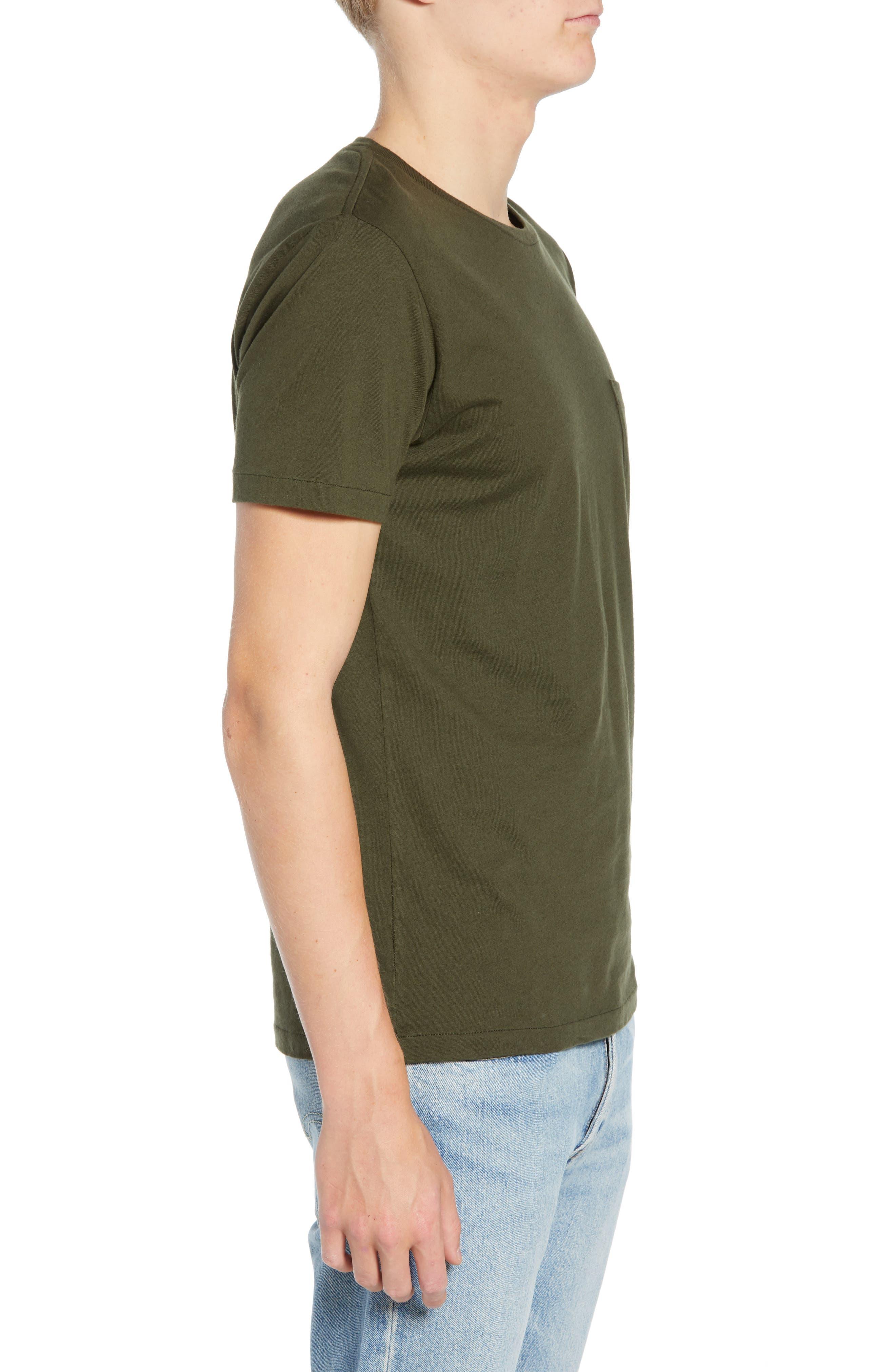 Slim Fit Pocket T-Shirt,                             Alternate thumbnail 3, color,                             300
