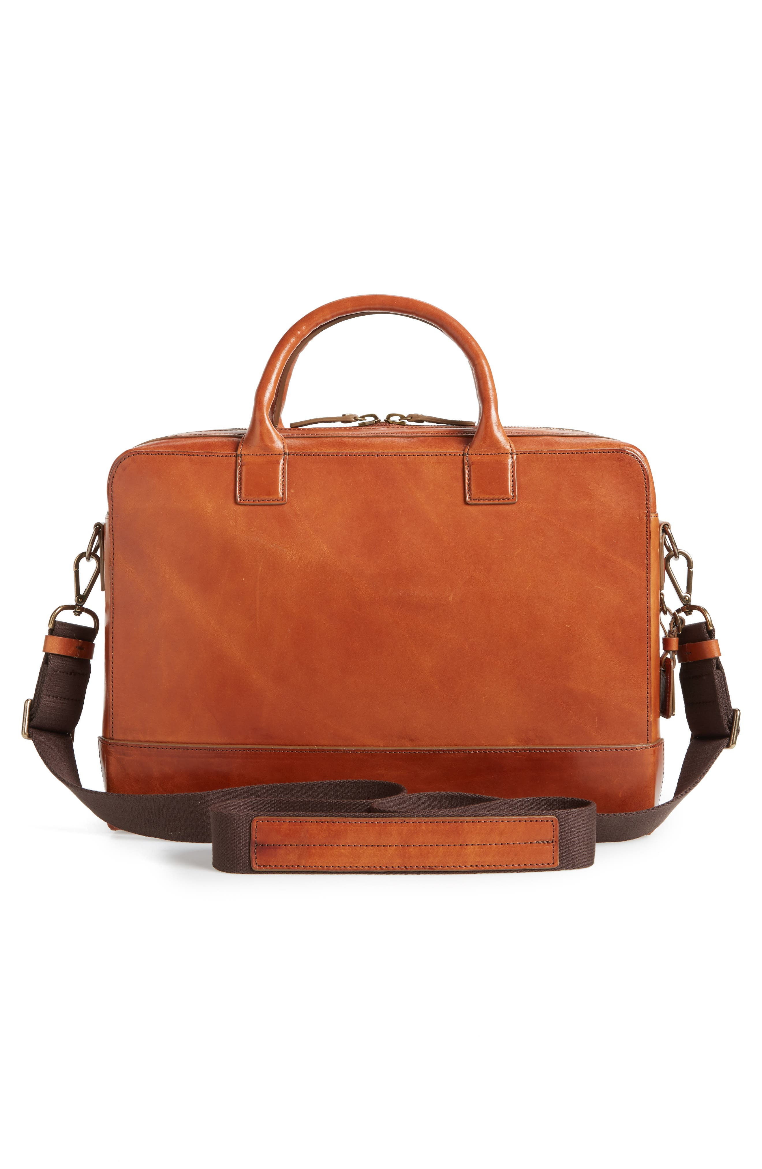 Harness Bedrock Leather Briefcase,                             Alternate thumbnail 3, color,                             220