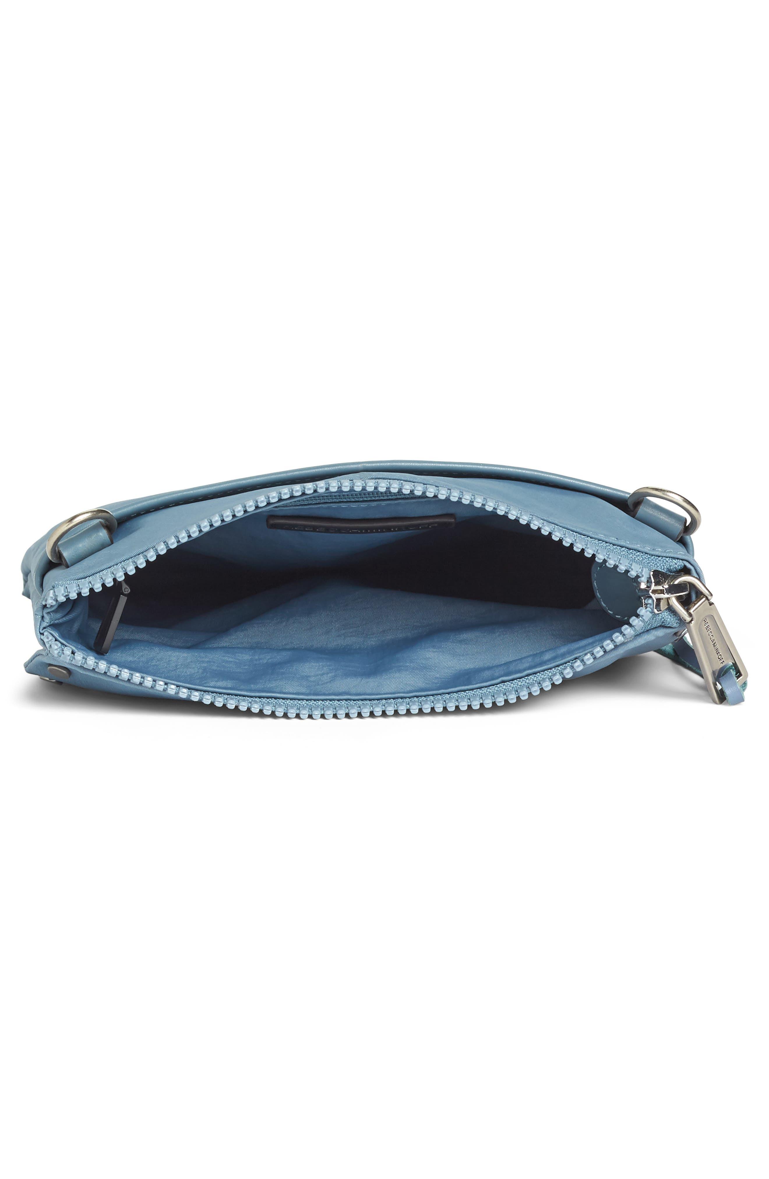 Nylon Flap Crossbody Bag,                             Alternate thumbnail 22, color,