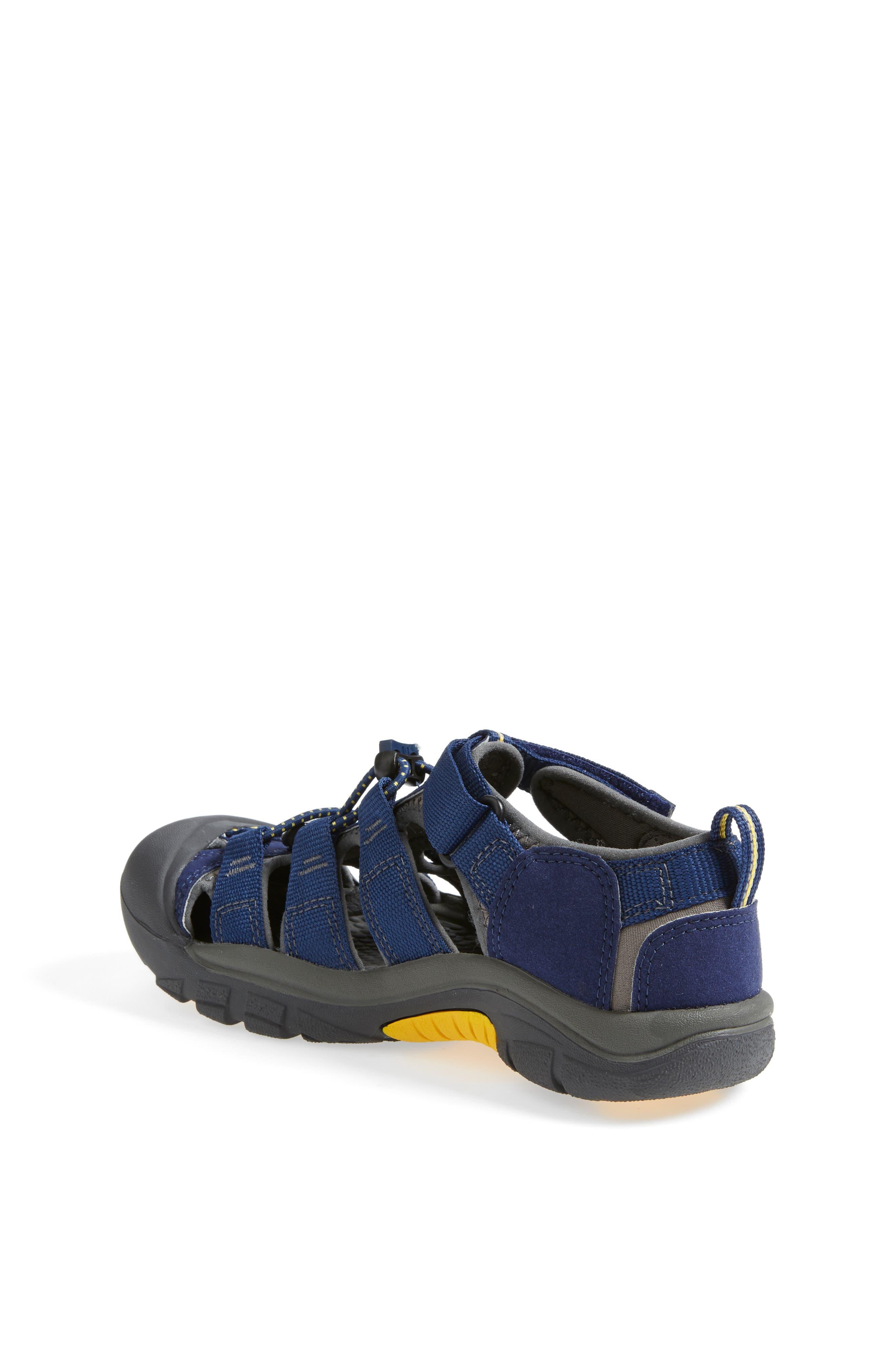 'Newport H2' Water Friendly Sandal,                             Alternate thumbnail 2, color,                             BLUE DEPTHS