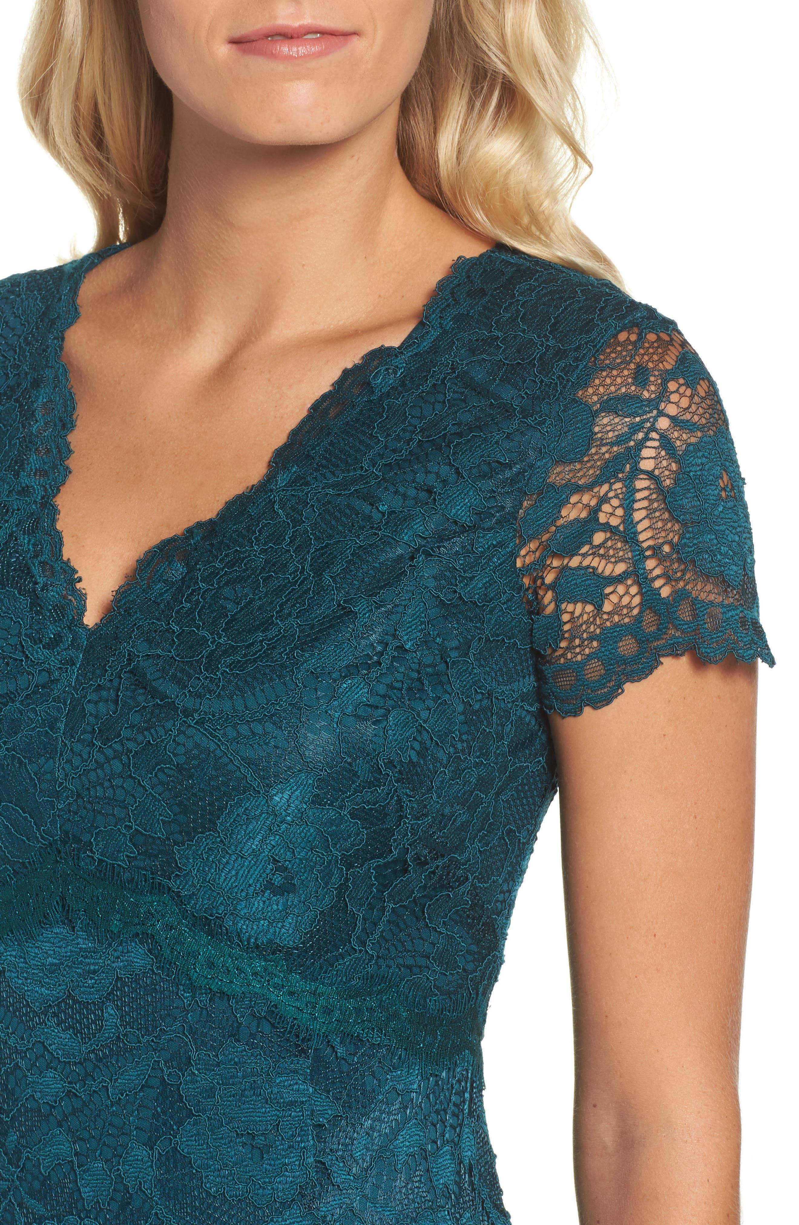 Lace Gown,                             Alternate thumbnail 4, color,                             300