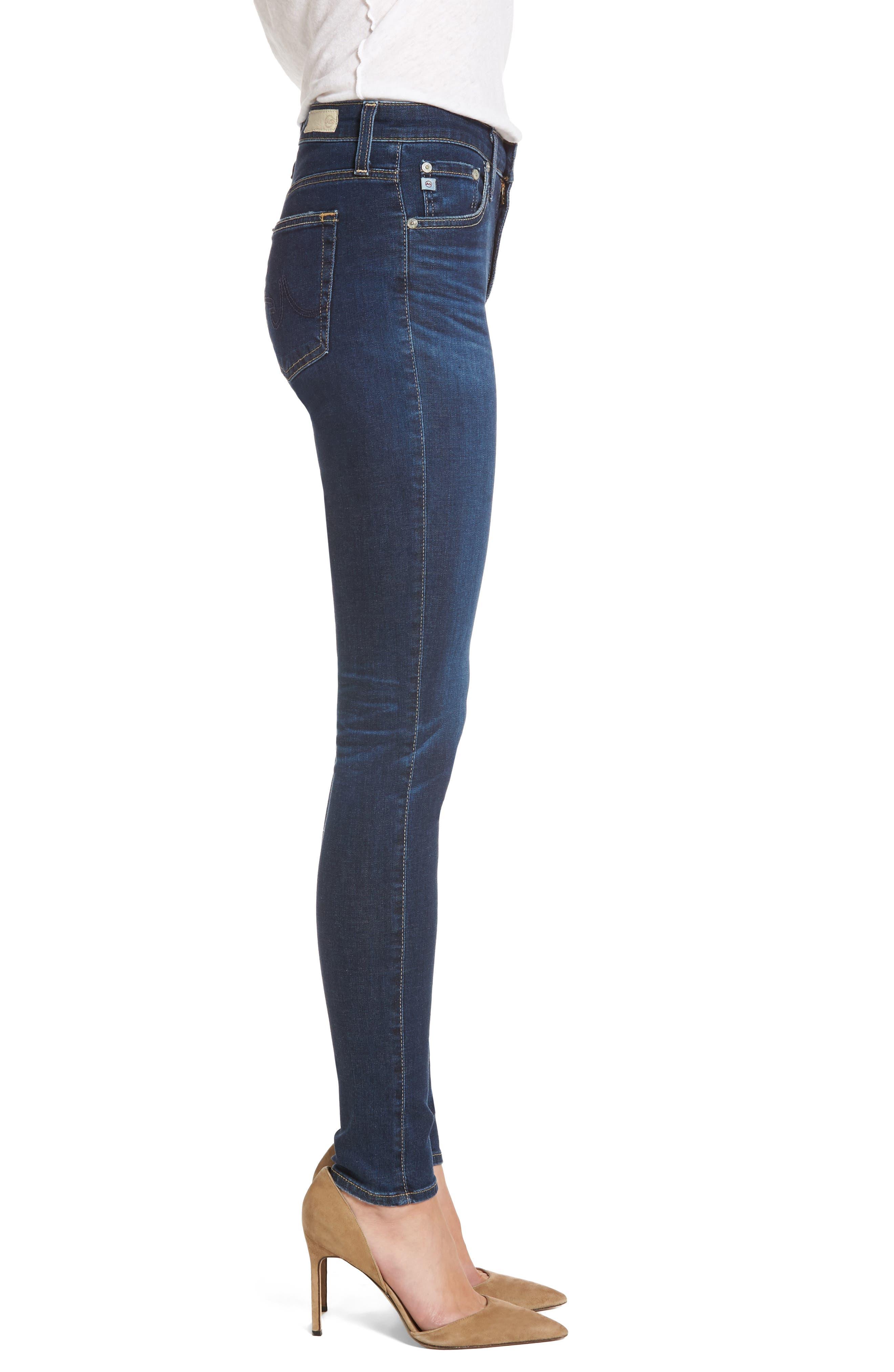 'The Farrah' High Rise Skinny Jeans,                             Alternate thumbnail 26, color,