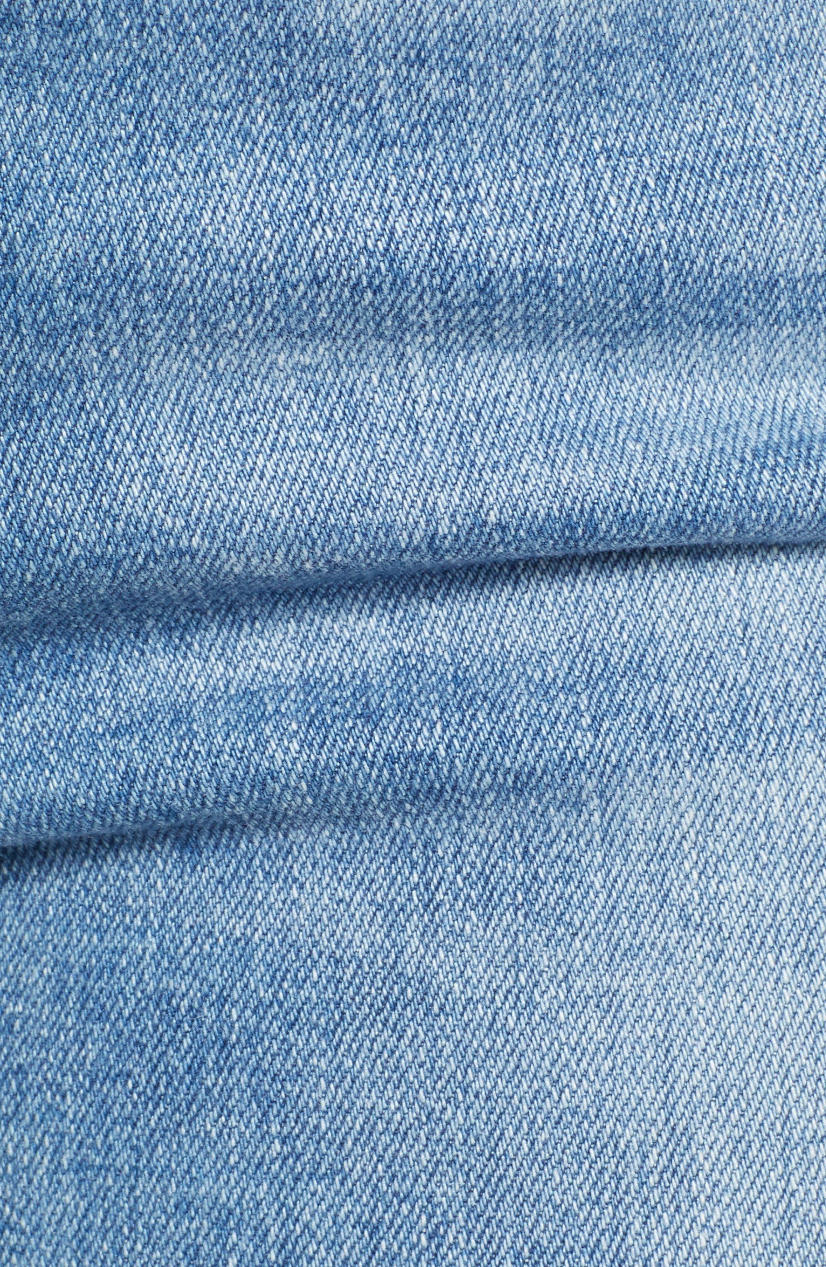 Prima Crop Skinny Jeans,                             Alternate thumbnail 6, color,                             SINGULARITY