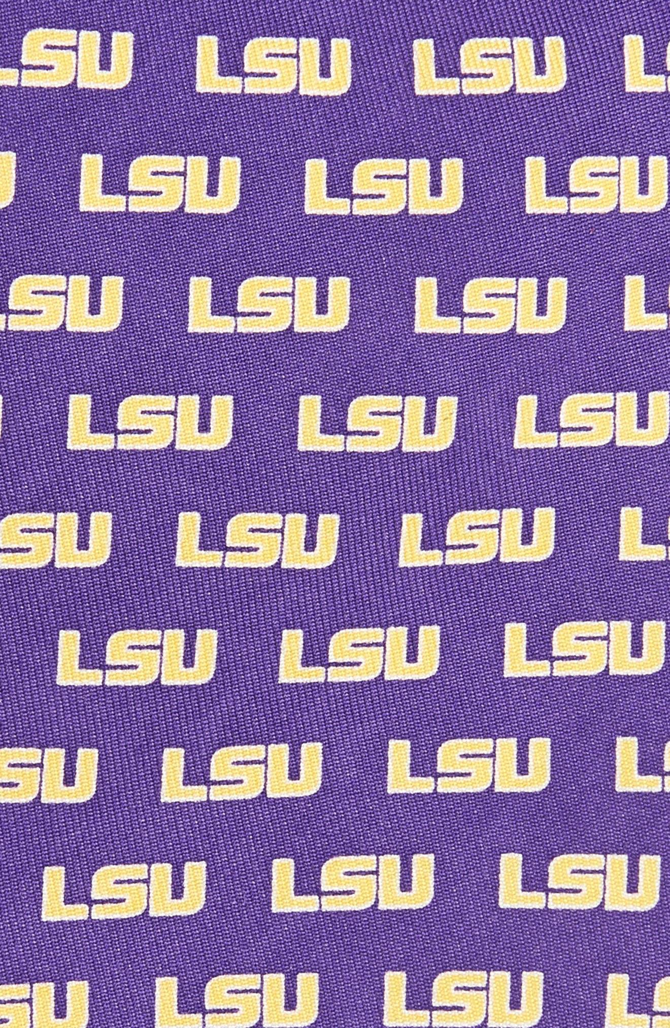Louisiana State University Silk Tie,                             Alternate thumbnail 2, color,                             525