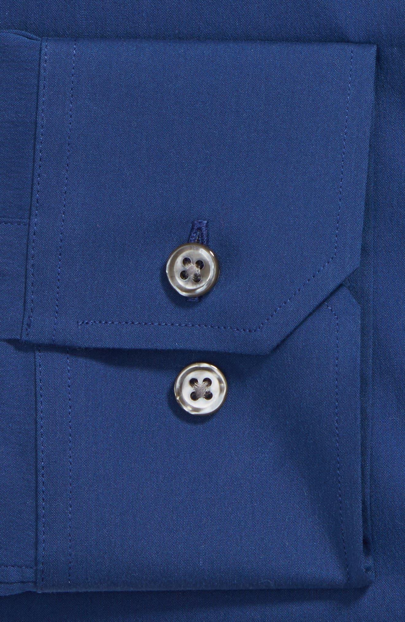 Slim Fit Solid Dress Shirt,                             Alternate thumbnail 2, color,                             400