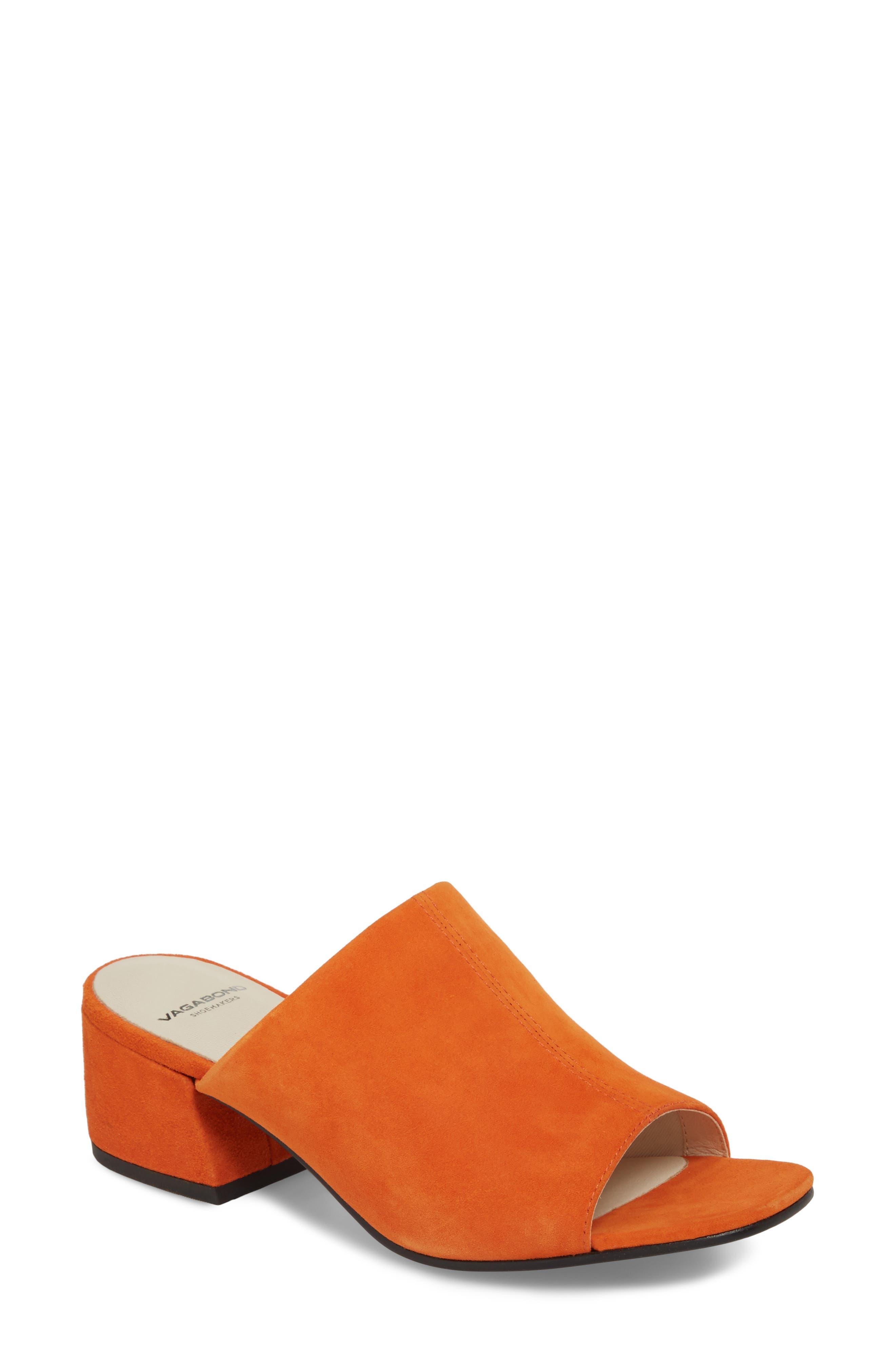Vagabond Shoemakers Saide Slide Sandal, Orange