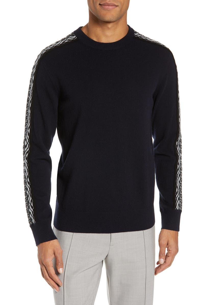 Fit Club Wool Fair Monaco Sweater Slim Navy Isle Ppx1TwEpq