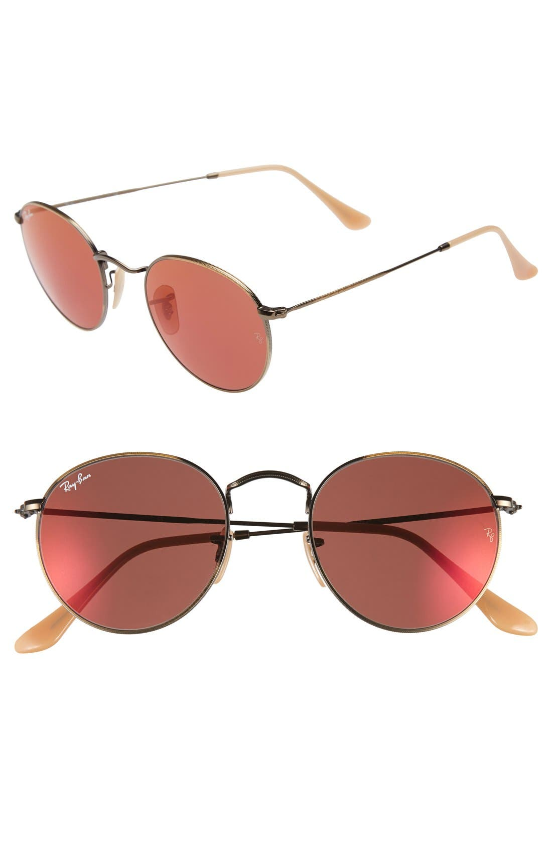Icons 50mm Sunglasses,                             Main thumbnail 1, color,