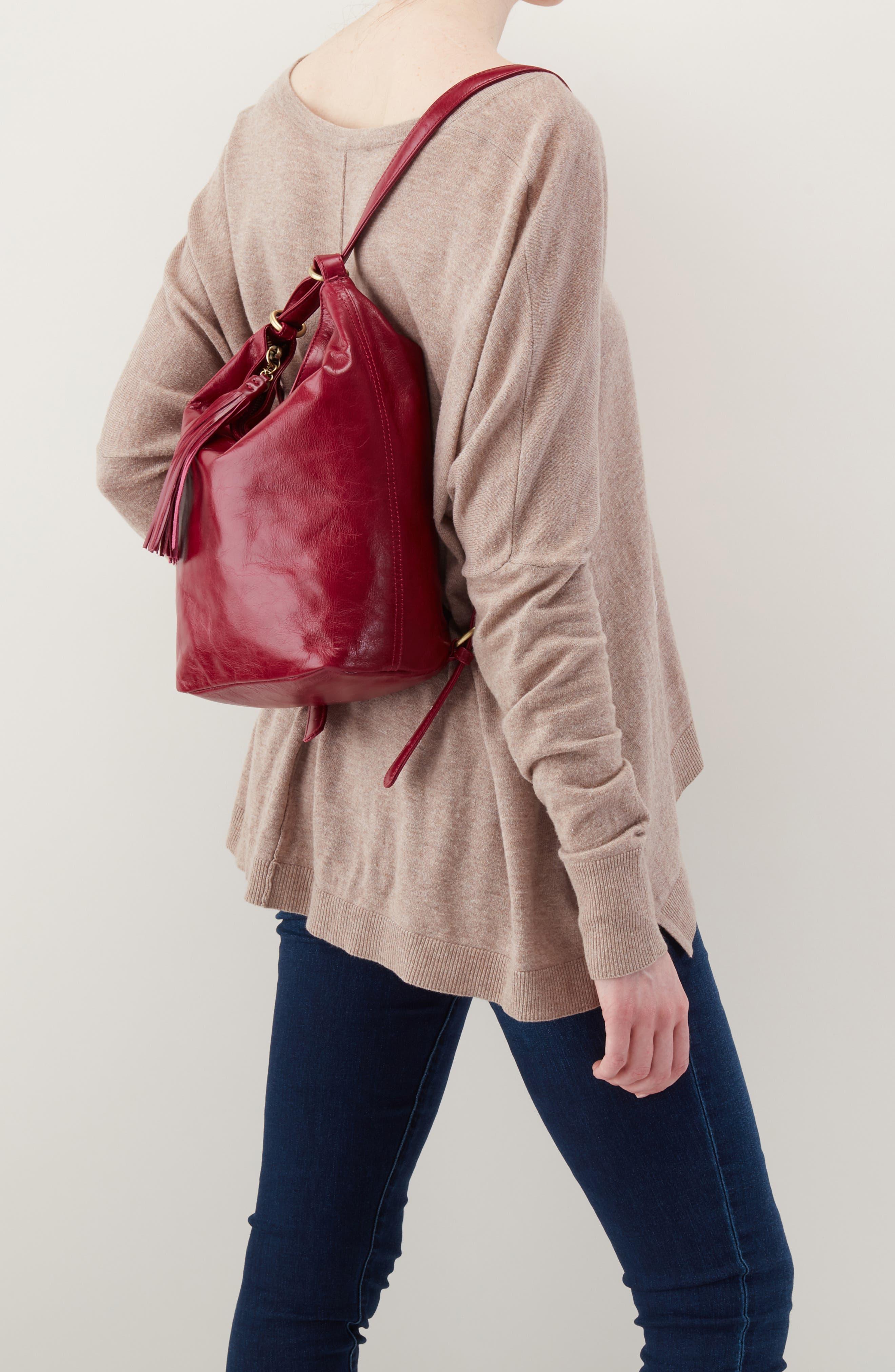 Blaze Convertible Shoulder Bag,                             Alternate thumbnail 2, color,                             RUBY