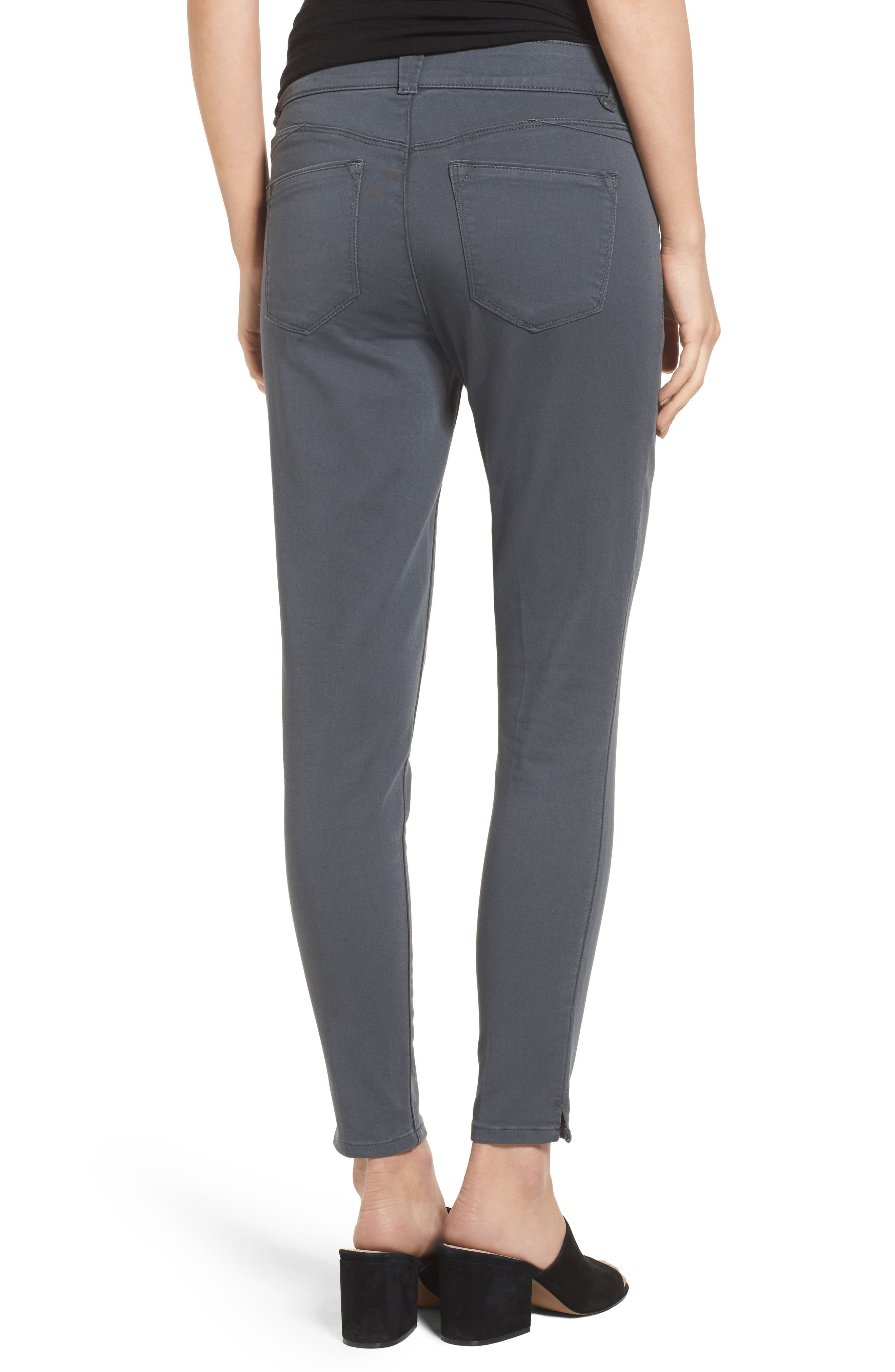 Ab-solution Stretch Twill Skinny Pants,                             Alternate thumbnail 2, color,                             050