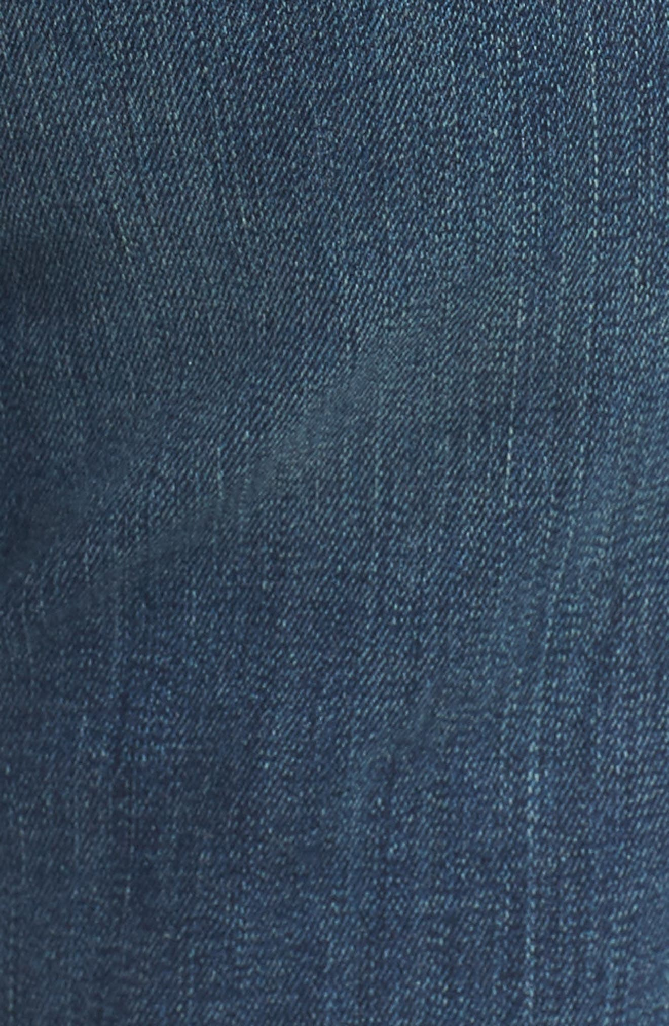 'Dayla' Colored Wide Cuff Capri Jeans,                             Alternate thumbnail 67, color,