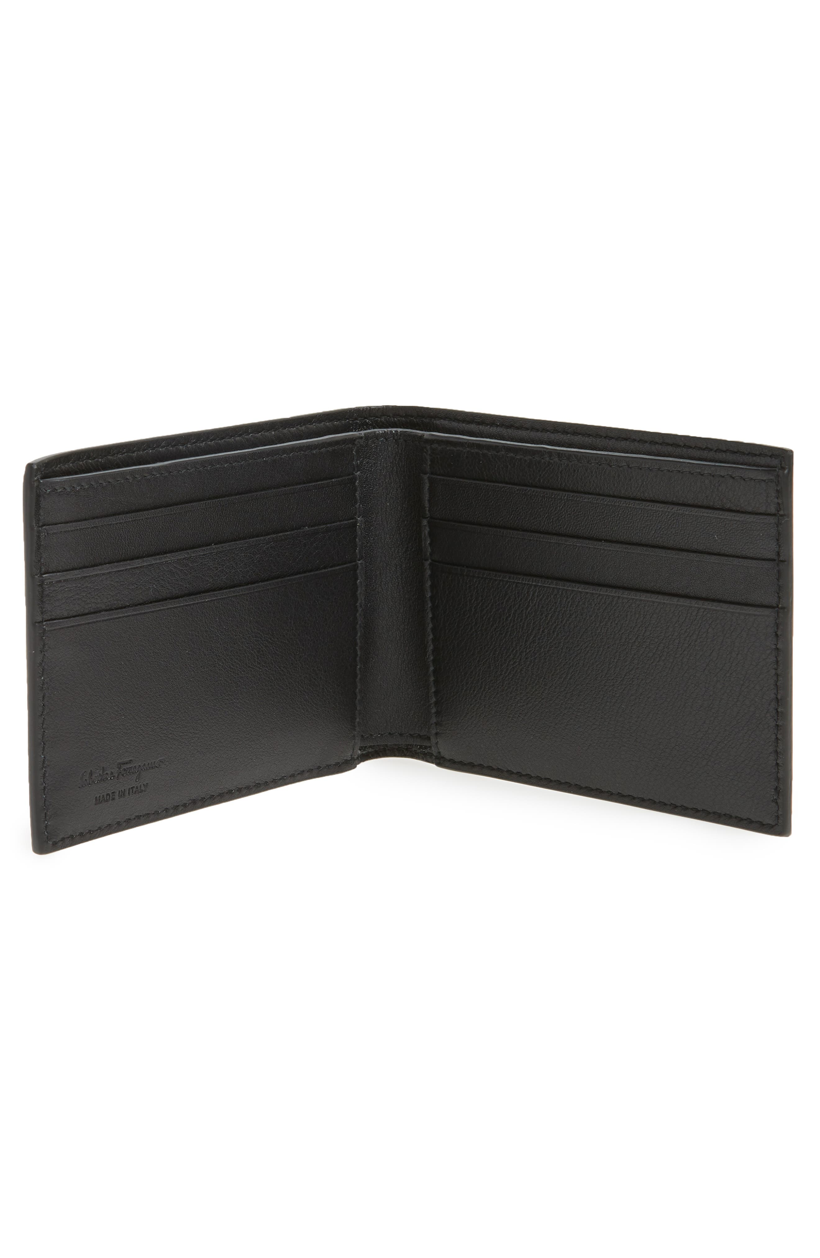 Leather Bifold Leather,                             Alternate thumbnail 2, color,                             070