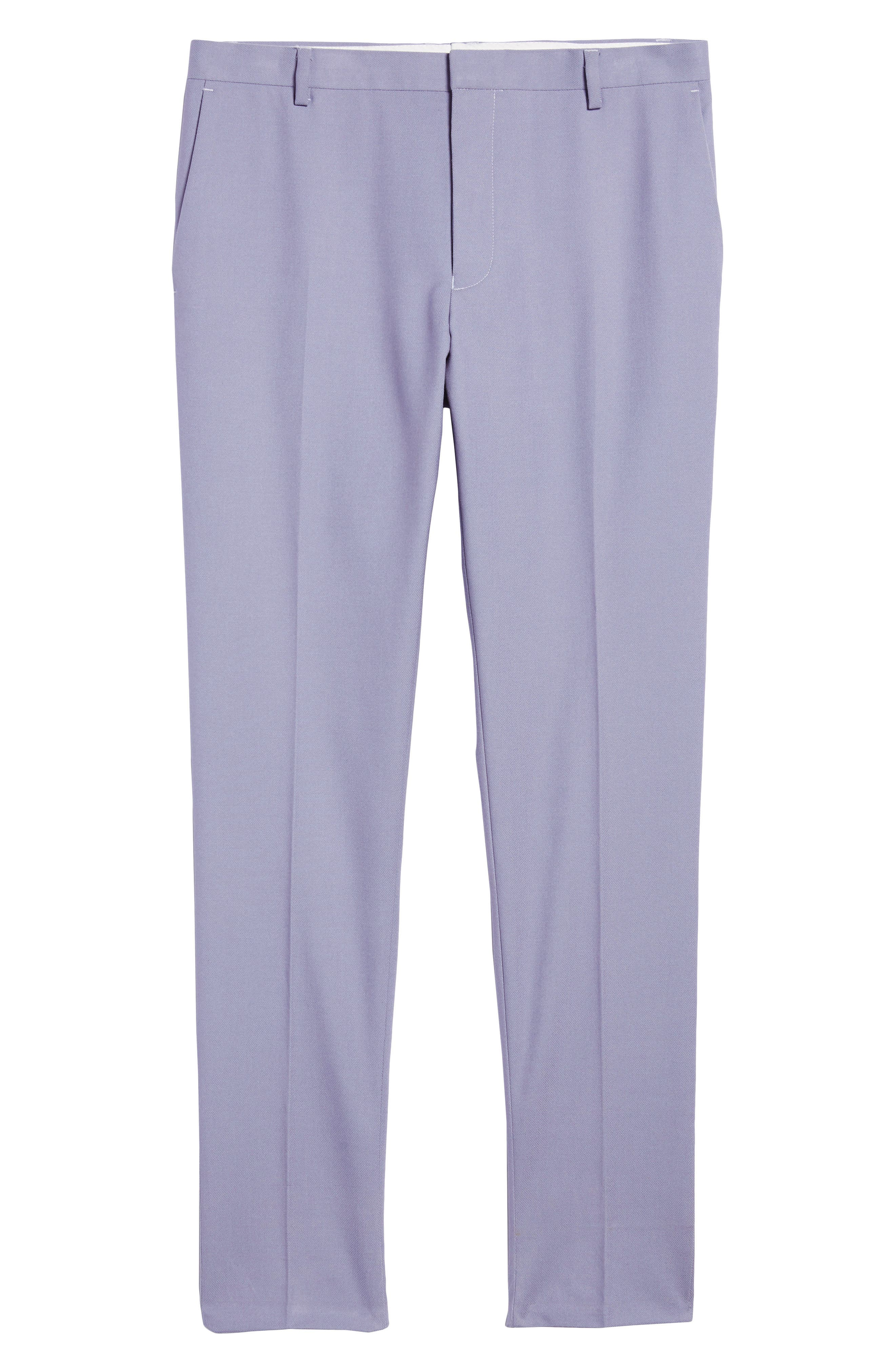 Skinny Fit Suit Trousers,                             Alternate thumbnail 12, color,