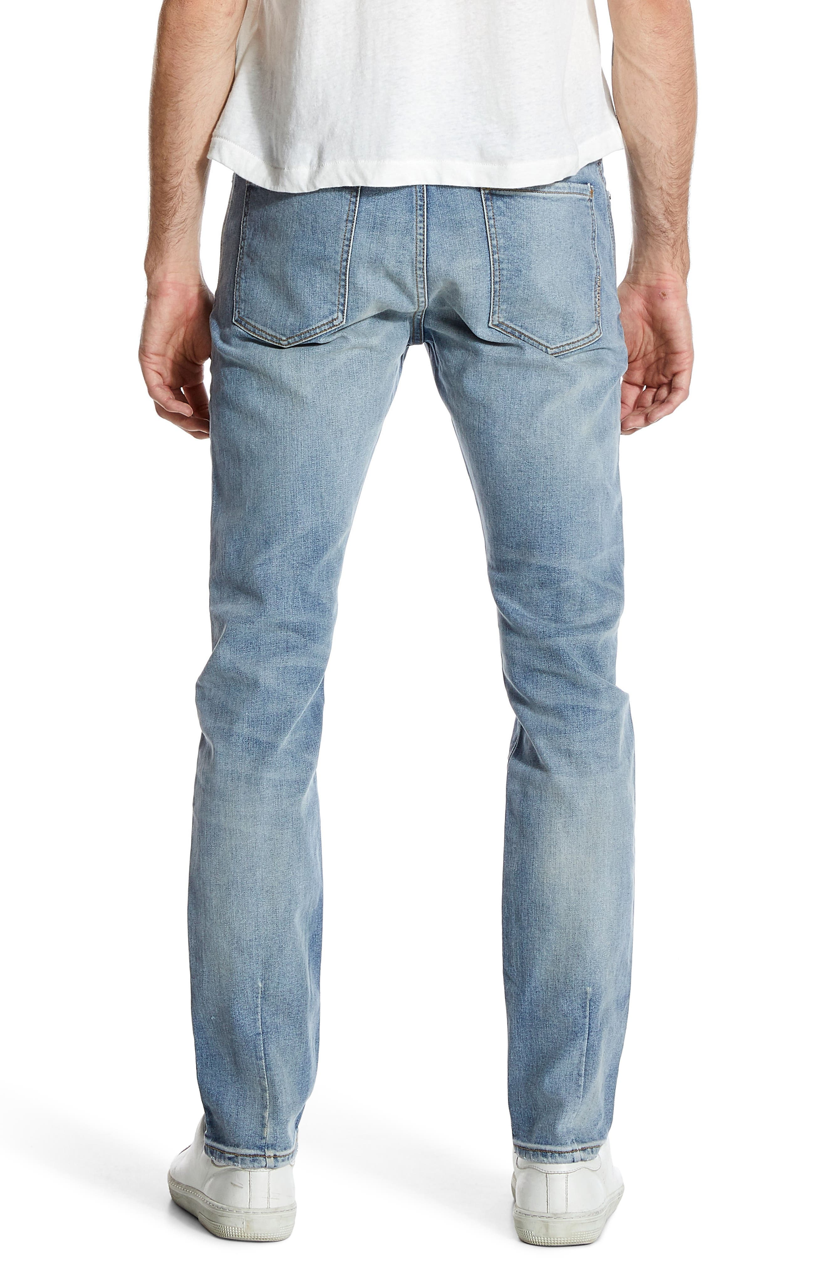 Iggy Skinny Fit Jeans,                             Alternate thumbnail 2, color,                             ATOMIC AIRWASH