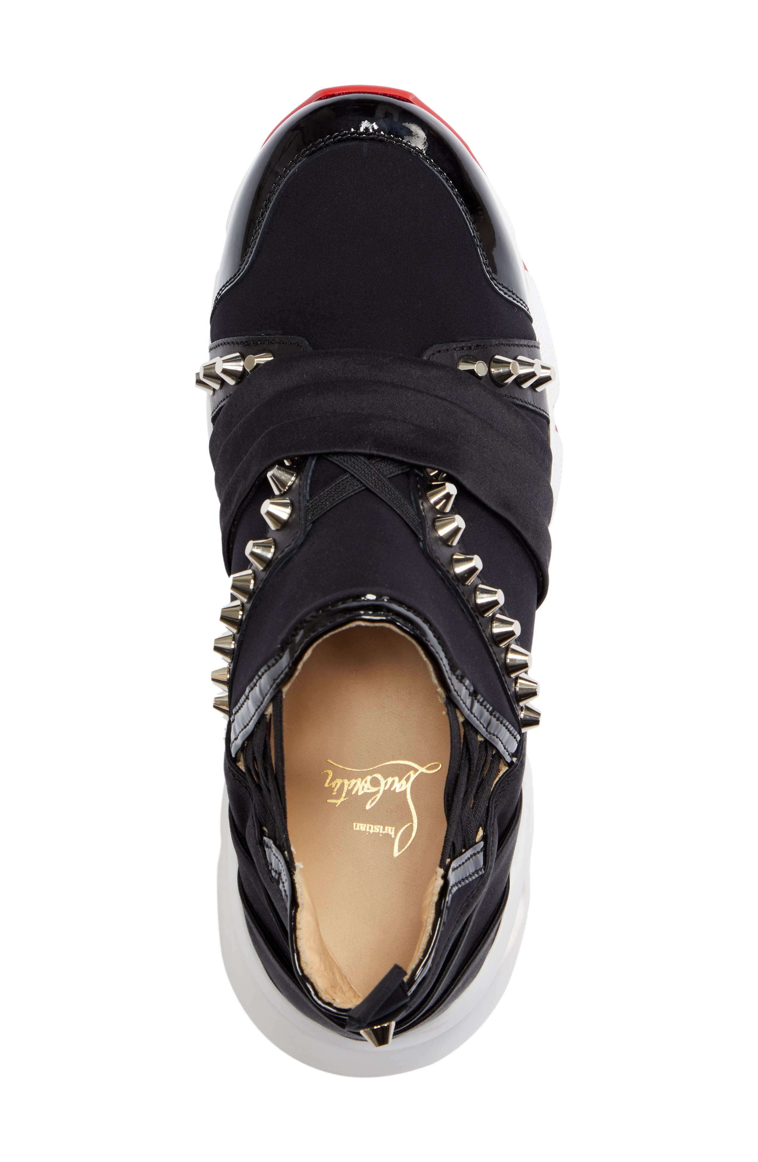 Run Slip-On Sneaker,                             Alternate thumbnail 5, color,                             BLACK