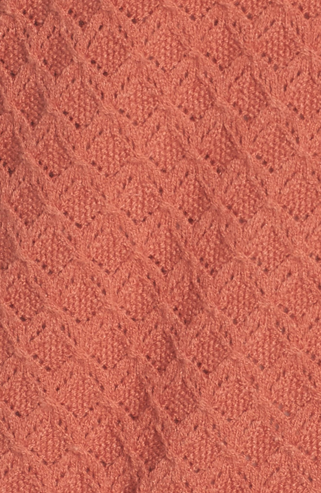 Pointelle Cardigan Sweater,                             Alternate thumbnail 20, color,