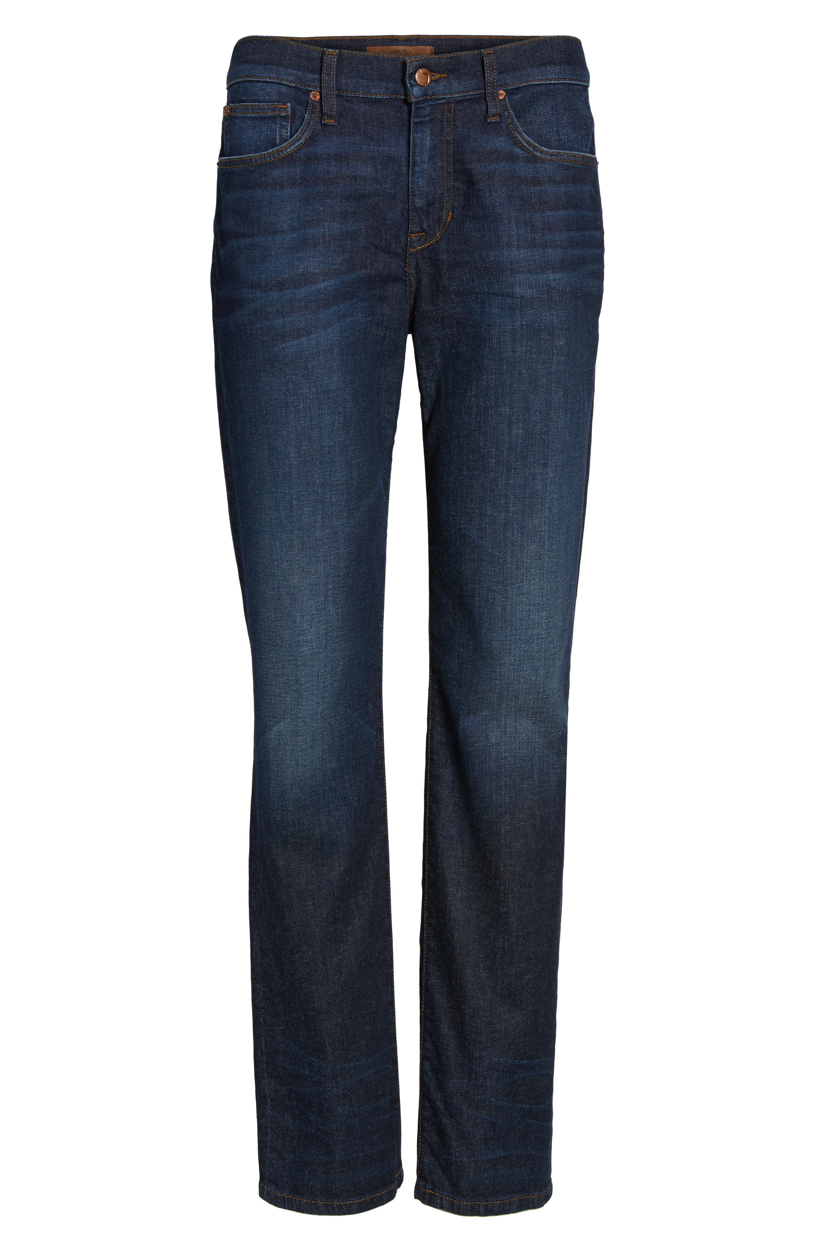 Classic Straight Leg Jeans,                             Alternate thumbnail 6, color,                             439