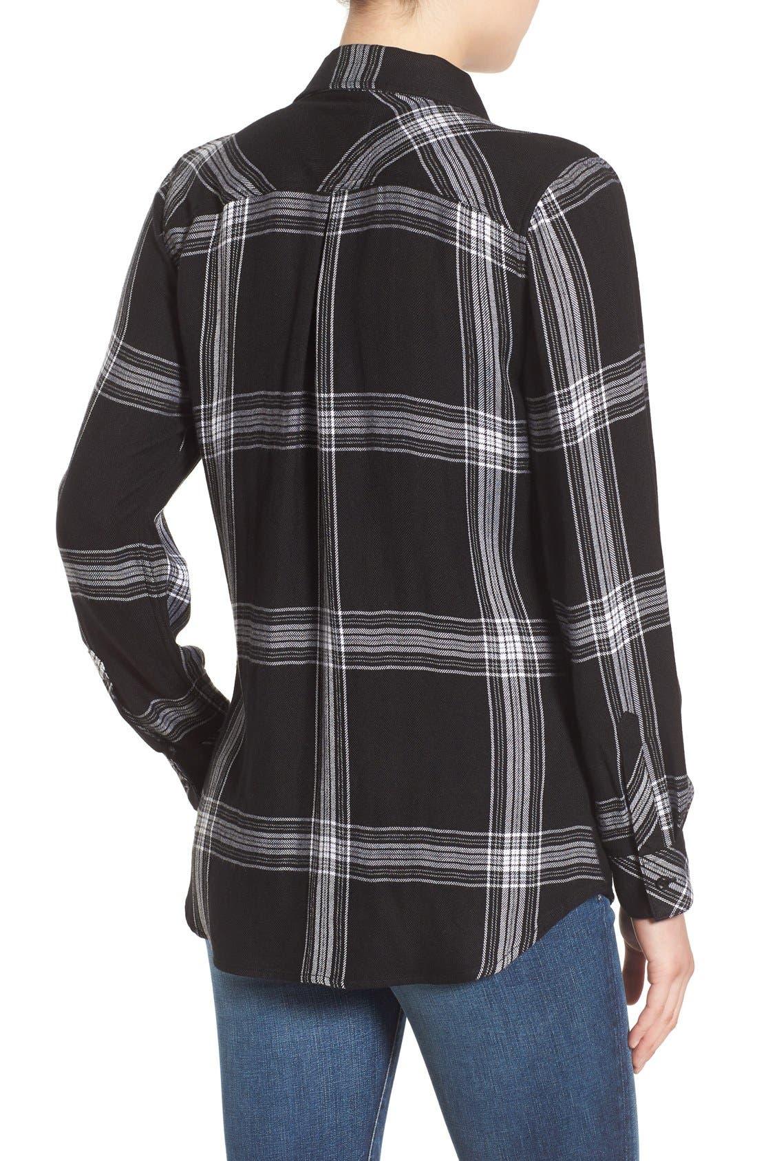 Hunter Plaid Shirt,                             Alternate thumbnail 508, color,