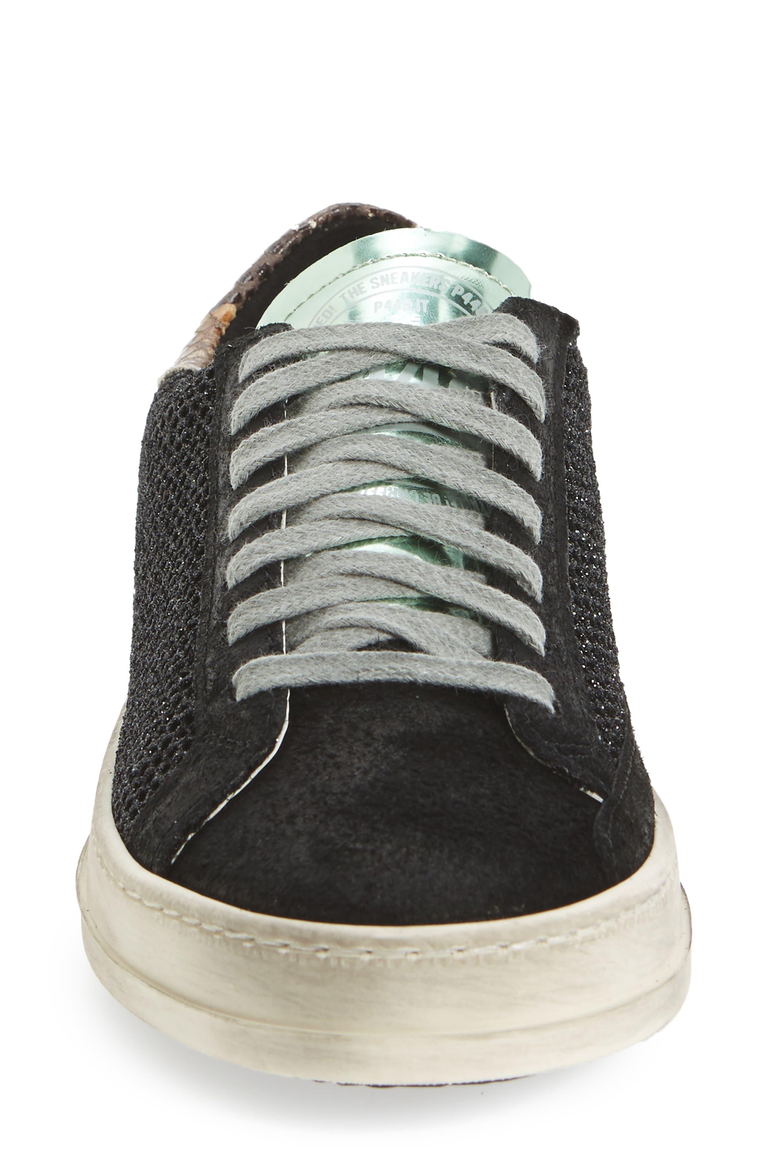 John Sneaker,                             Alternate thumbnail 4, color,                             GLITTER TECHNICAL MESH