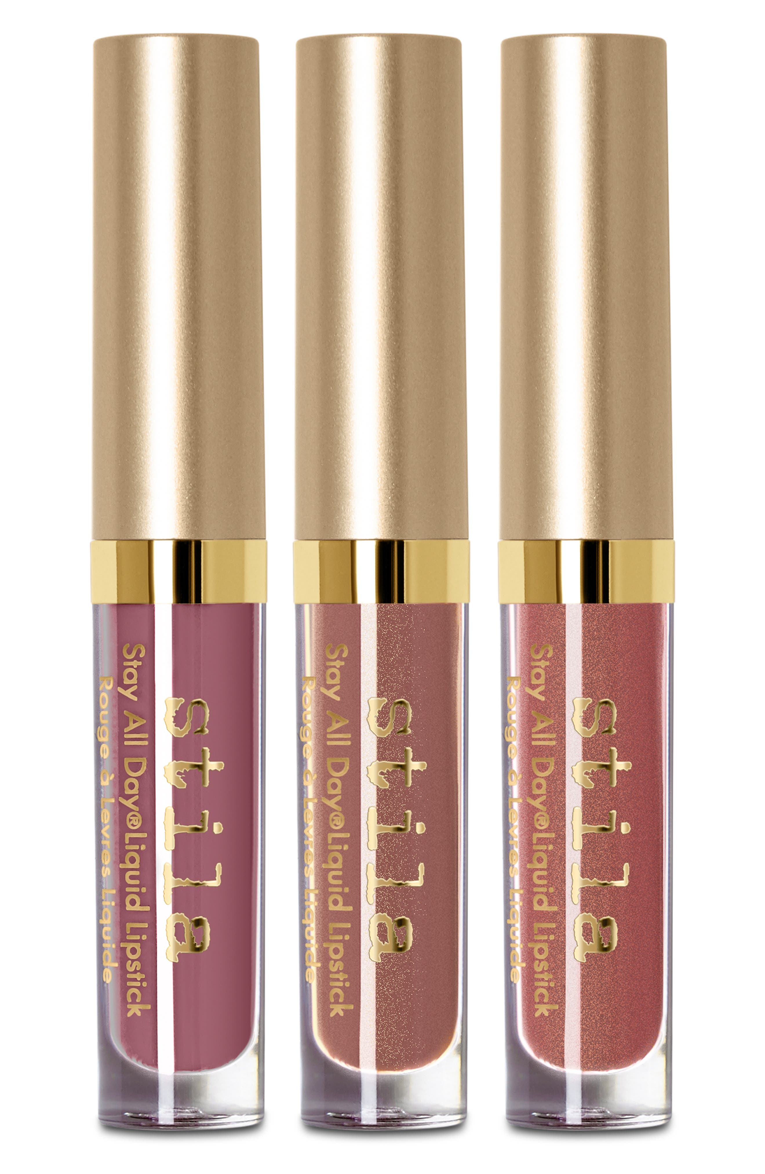Nude Attitude Stay All Day<sup>®</sup> Liquid Lipstick Set,                             Main thumbnail 1, color,                             NO COLOR