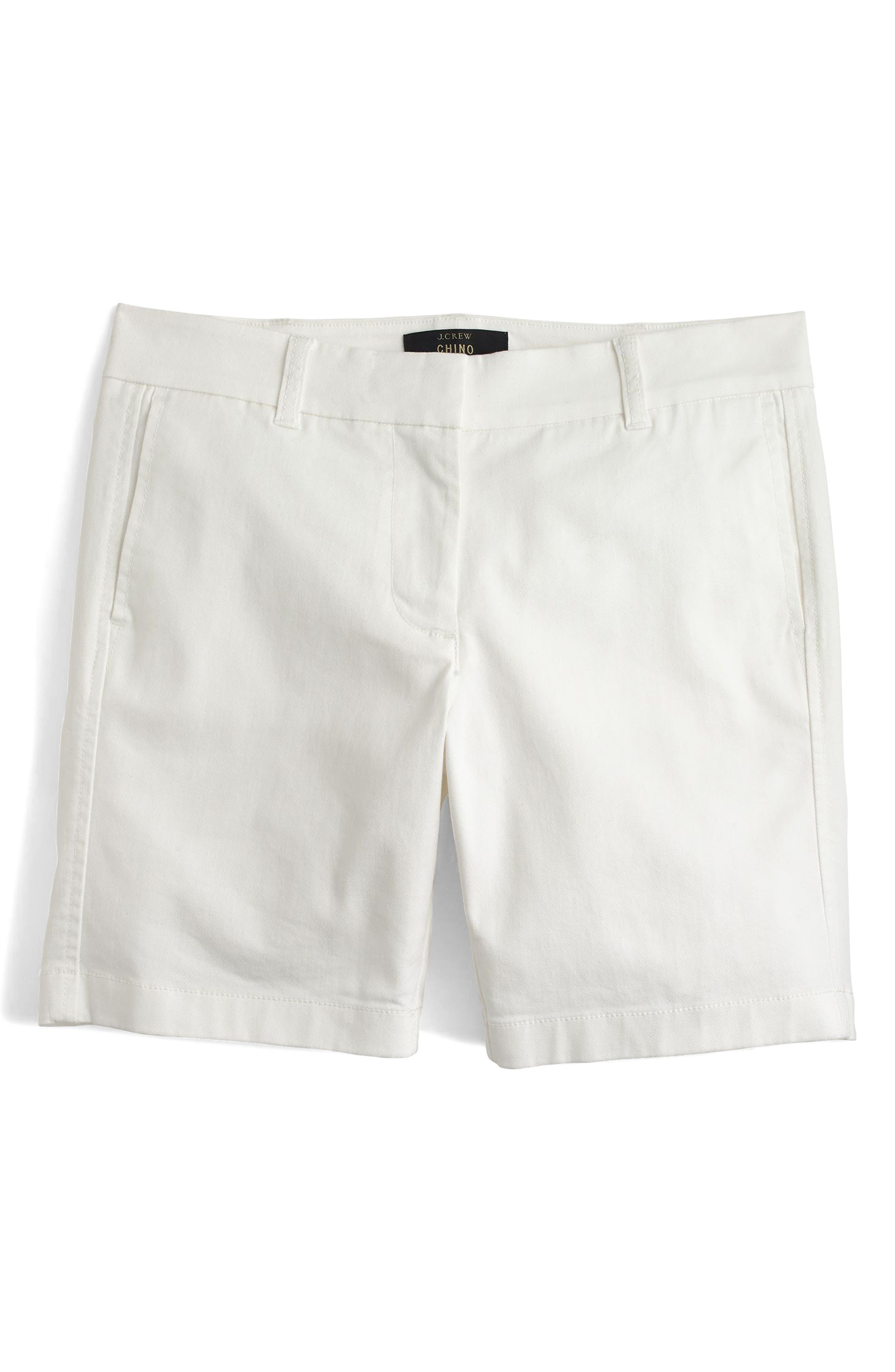 Stretch Cotton Chino Shorts,                             Main thumbnail 2, color,