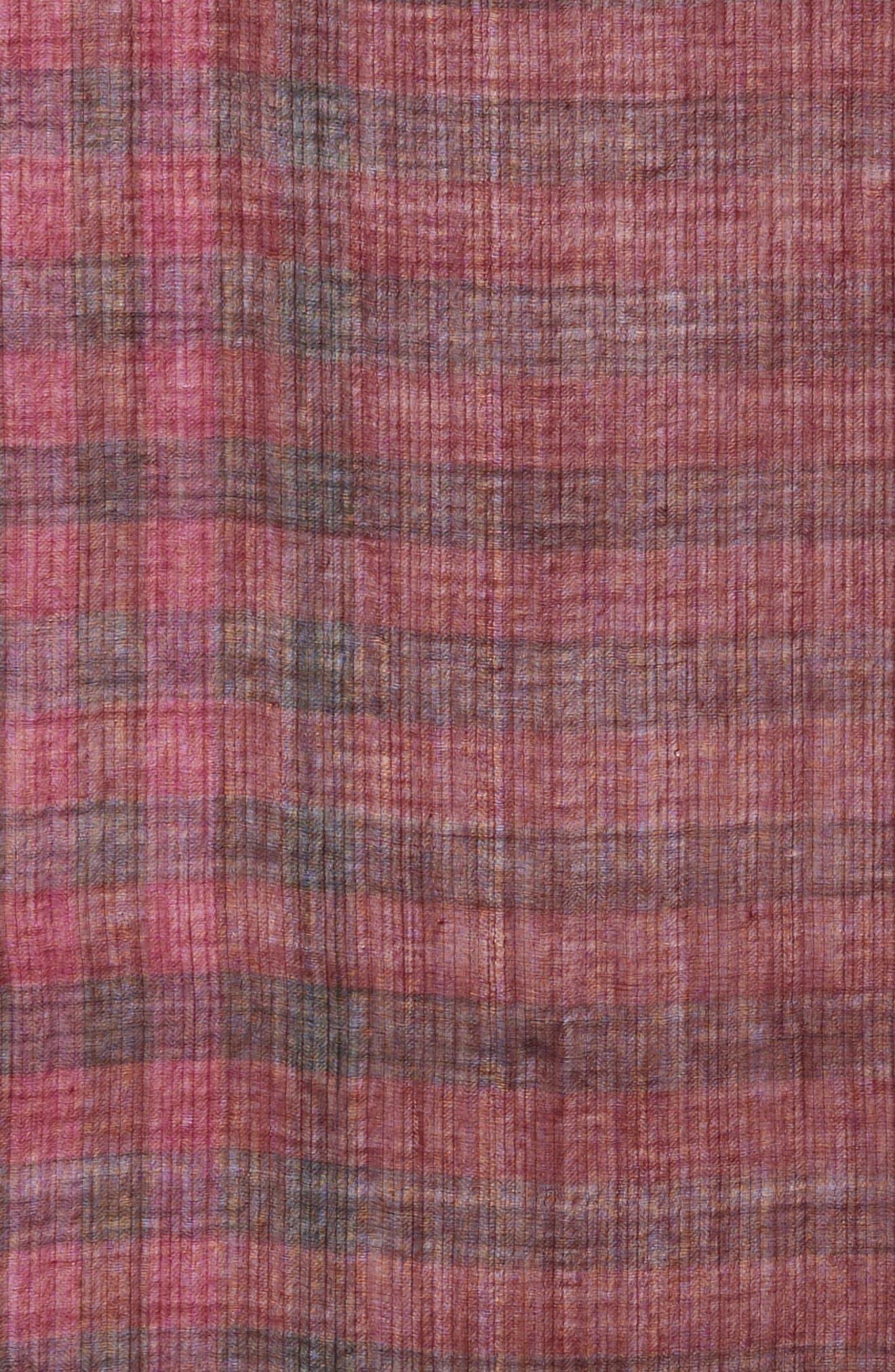 Plaid Wool Scarf,                             Alternate thumbnail 15, color,