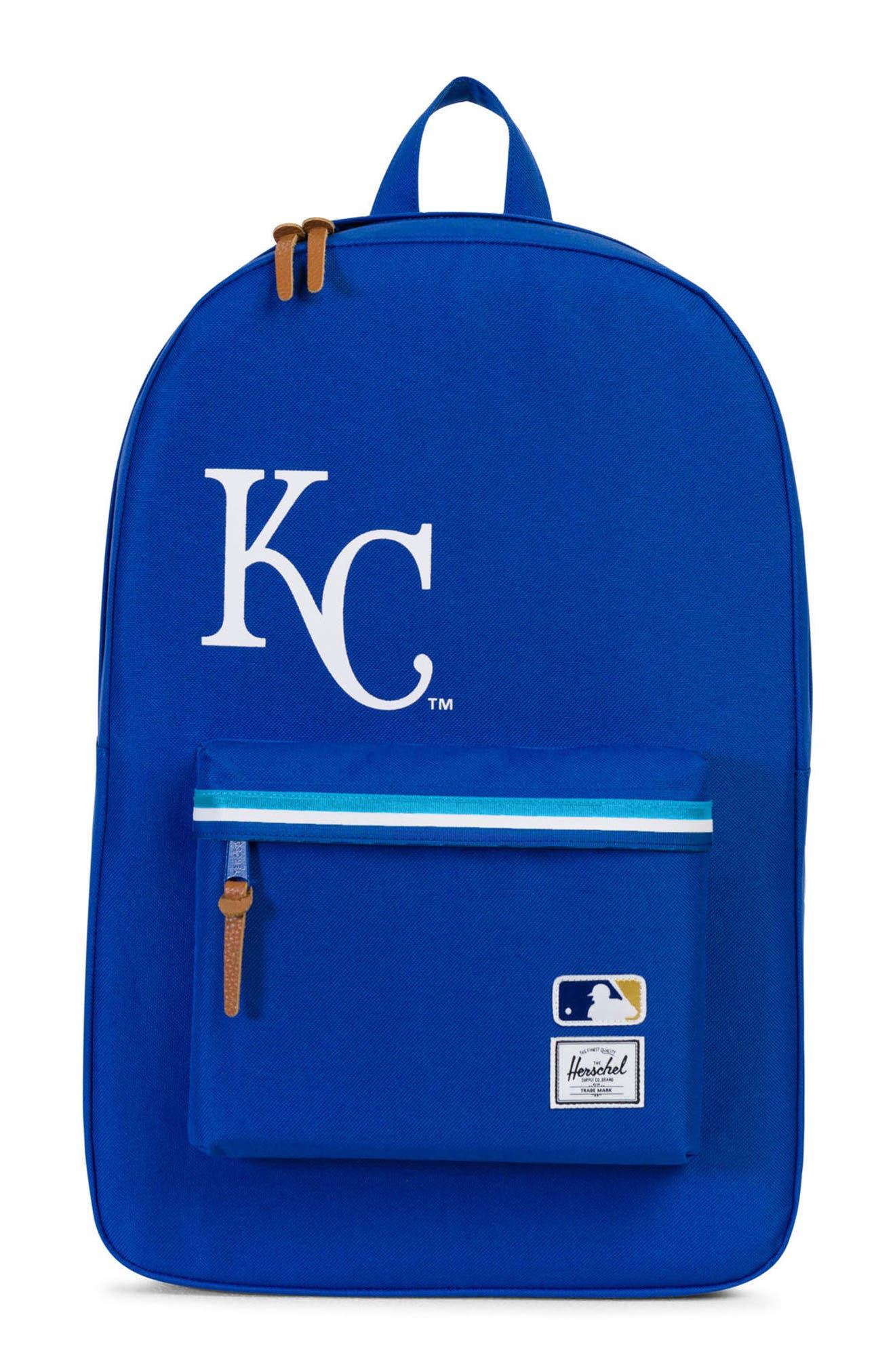 Heritage Kansas City Royals Backpack,                             Main thumbnail 1, color,                             455