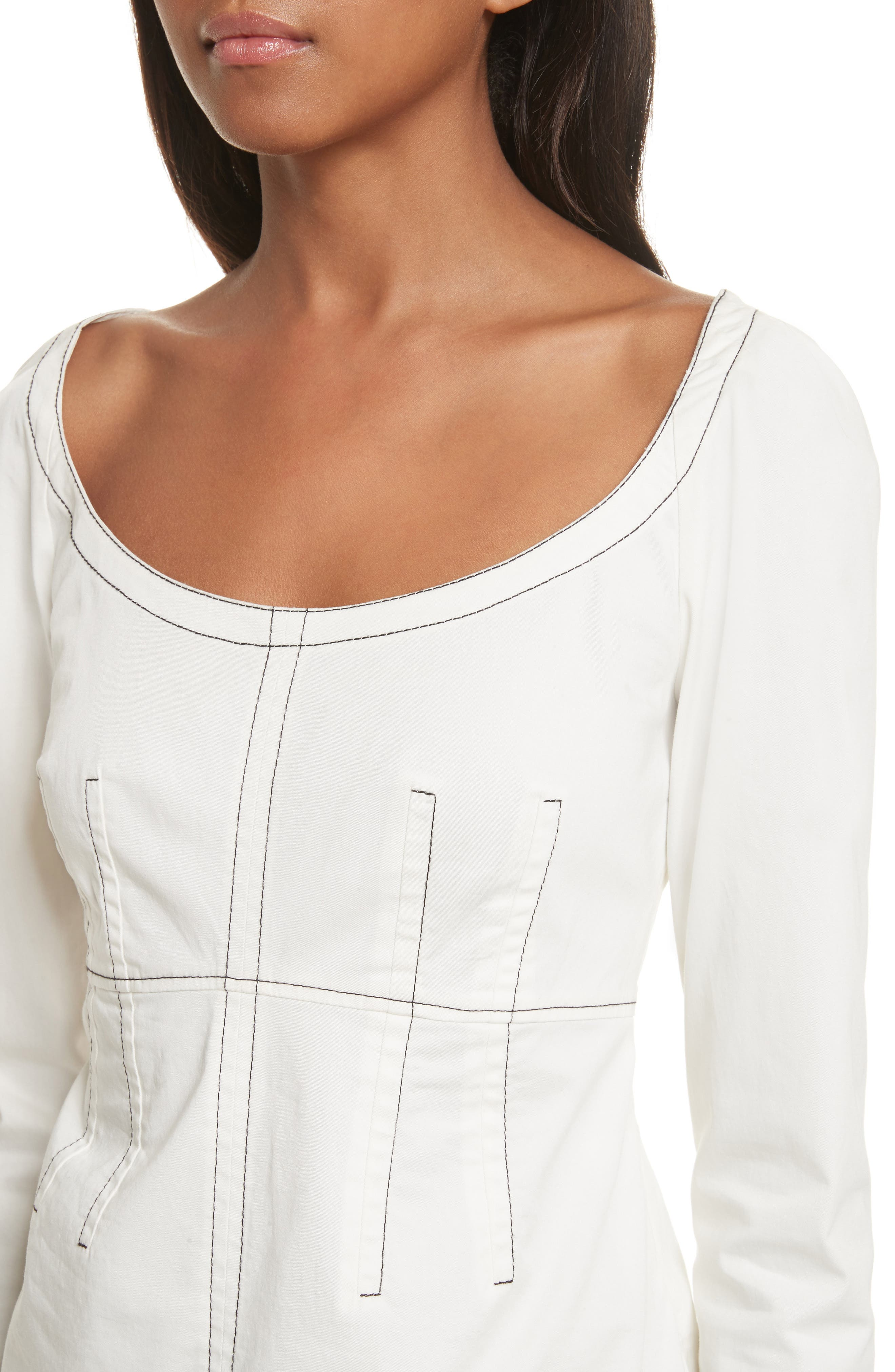 Structured Twill Top,                             Alternate thumbnail 4, color,