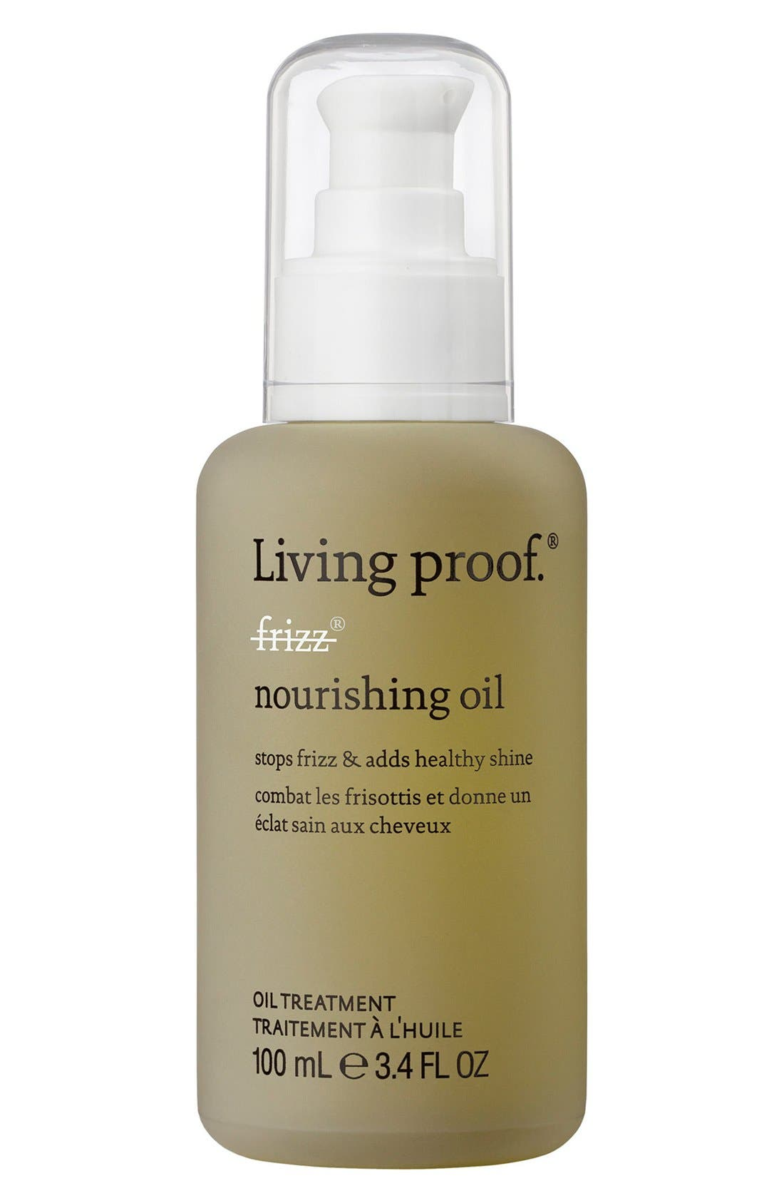 No Frizz Nourishing Oil,                             Main thumbnail 1, color,                             NO COLOR