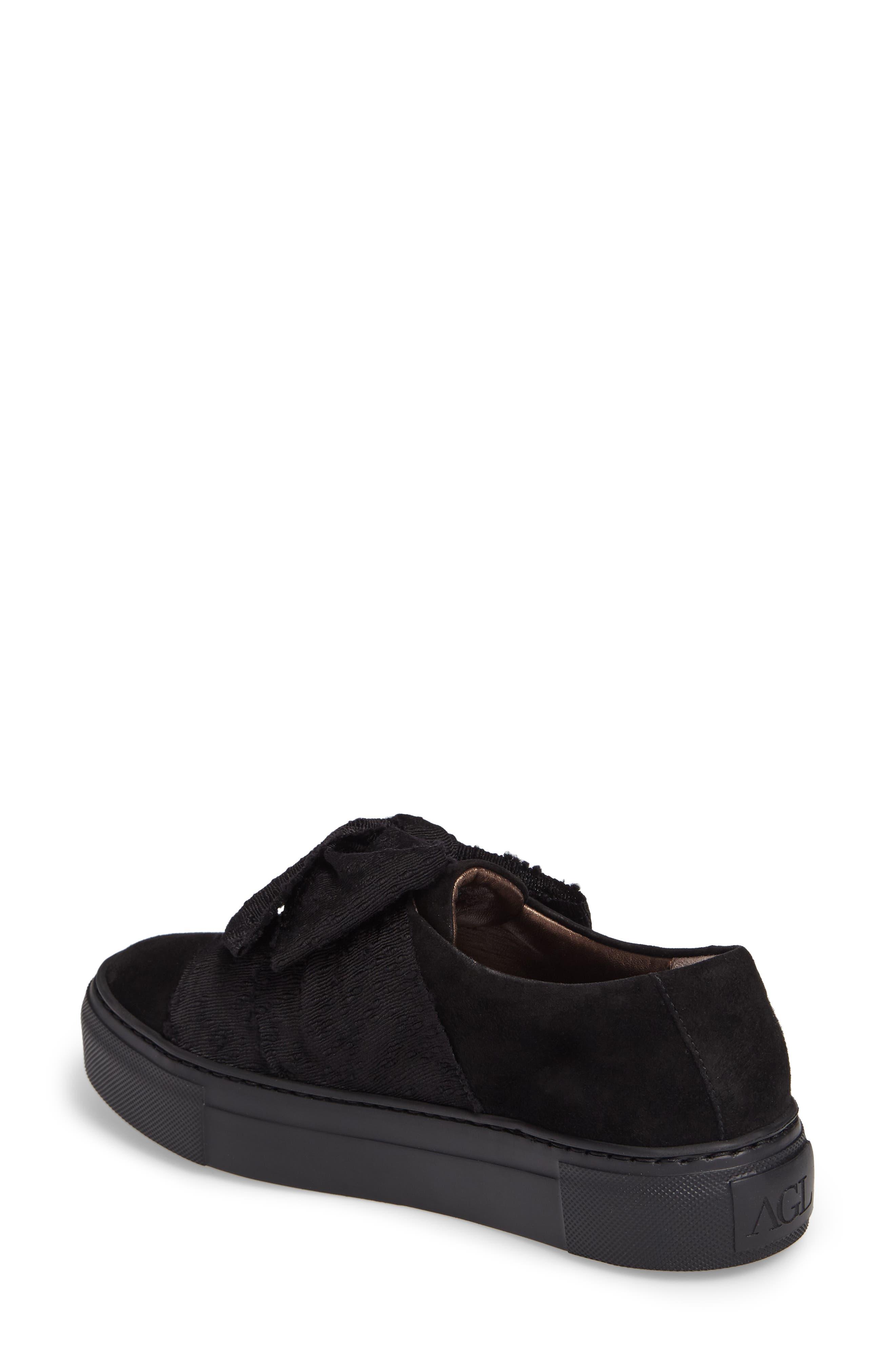 Bow Platform Sneaker,                             Alternate thumbnail 2, color,                             002