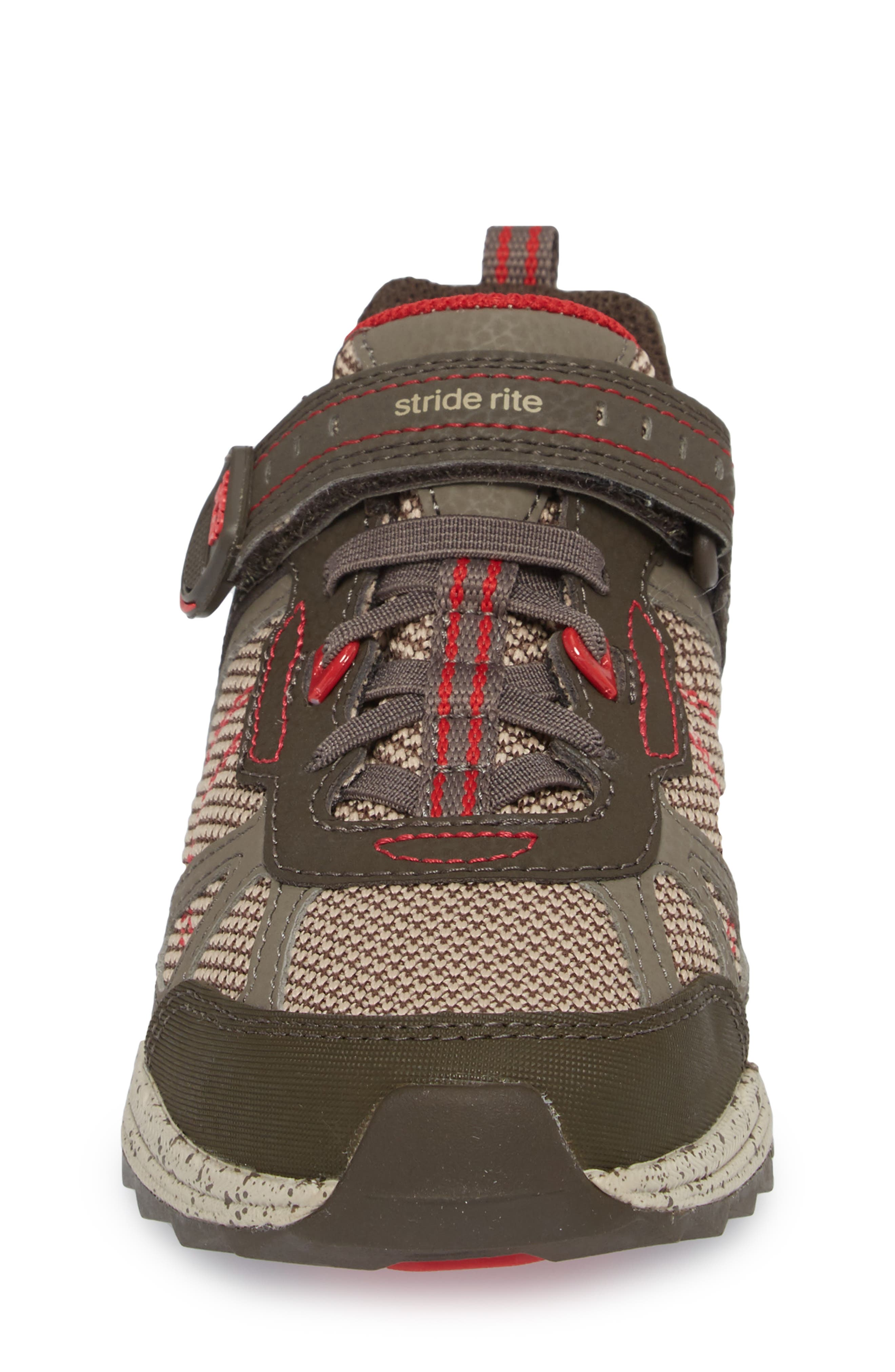 Made2Play<sup>®</sup> Owen Washable Sneaker,                             Alternate thumbnail 4, color,                             BROWN LEATHER/ TEXTILE