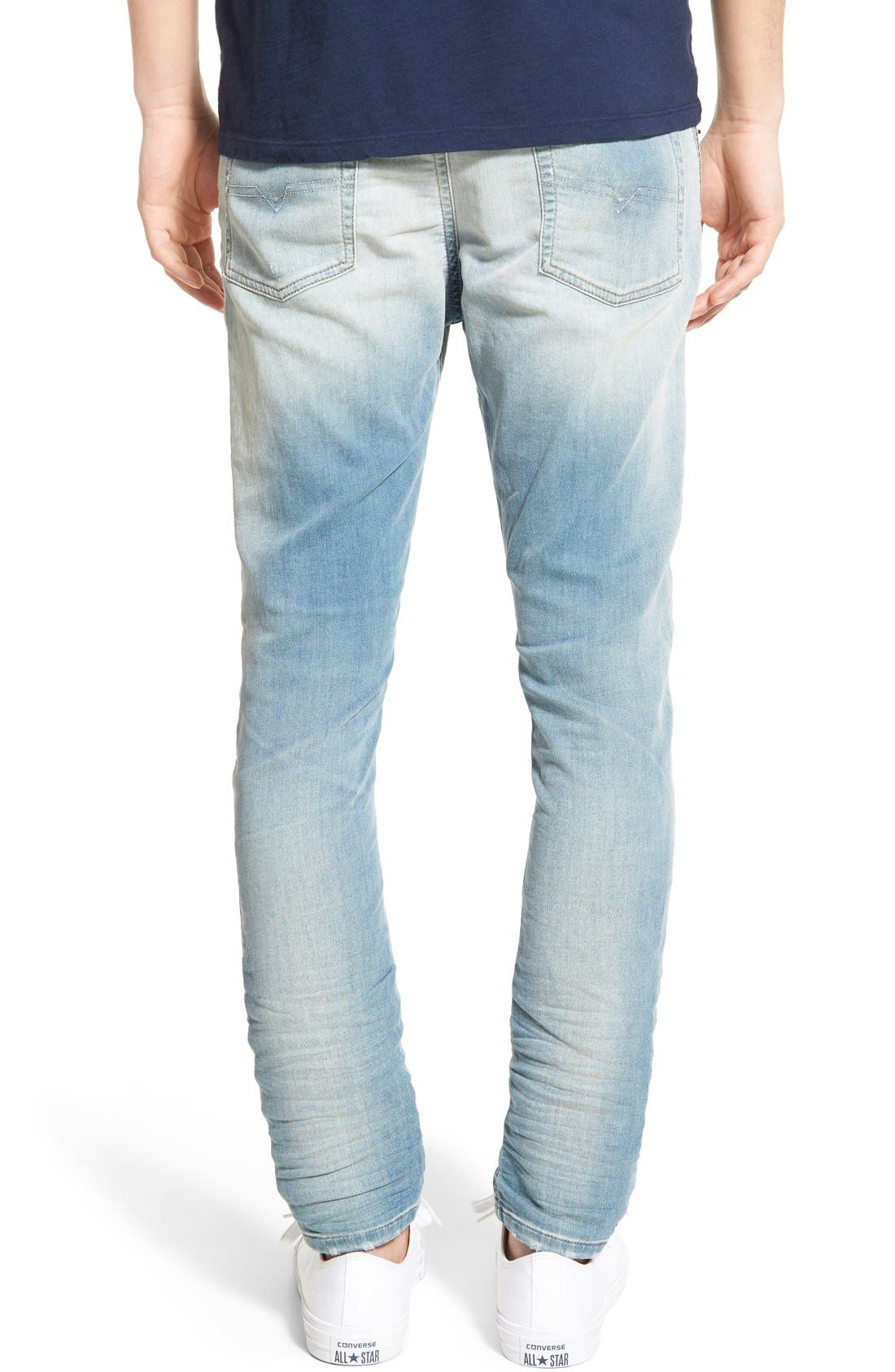 'Spender' Skinny Fit Jeans,                             Alternate thumbnail 3, color,                             400