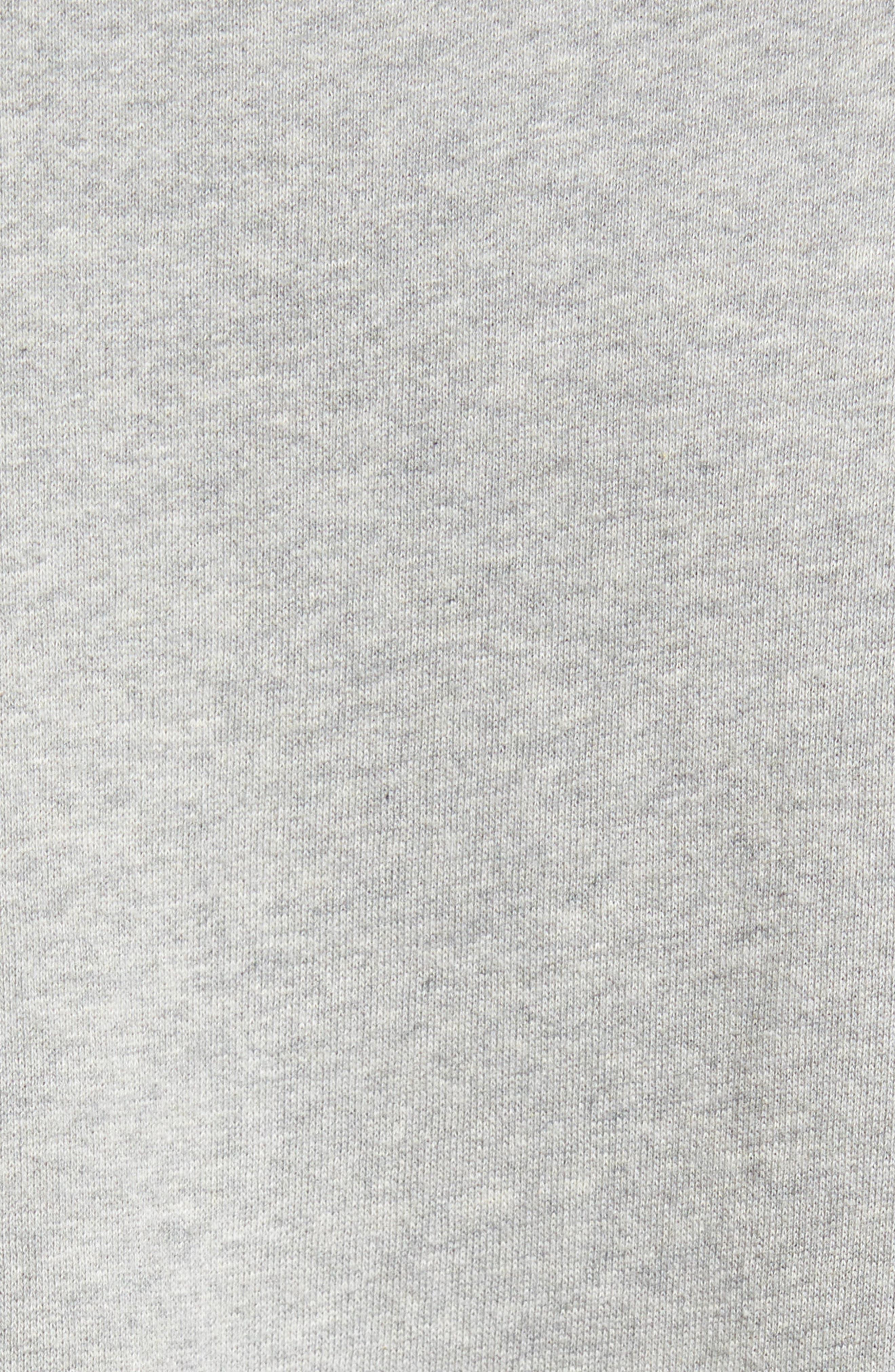 Multi Mélange Colorblock Sweatshirt,                             Alternate thumbnail 5, color,                             033