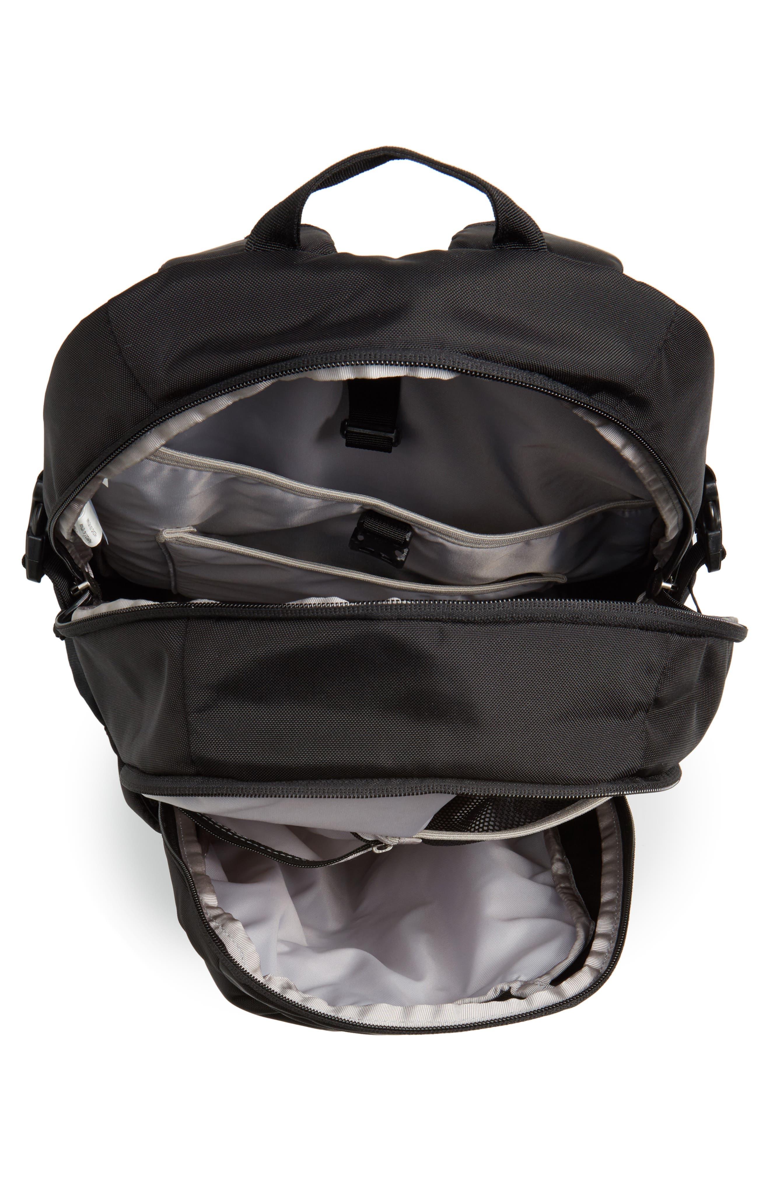 28L Refugio Backpack,                             Alternate thumbnail 4, color,                             BLACK