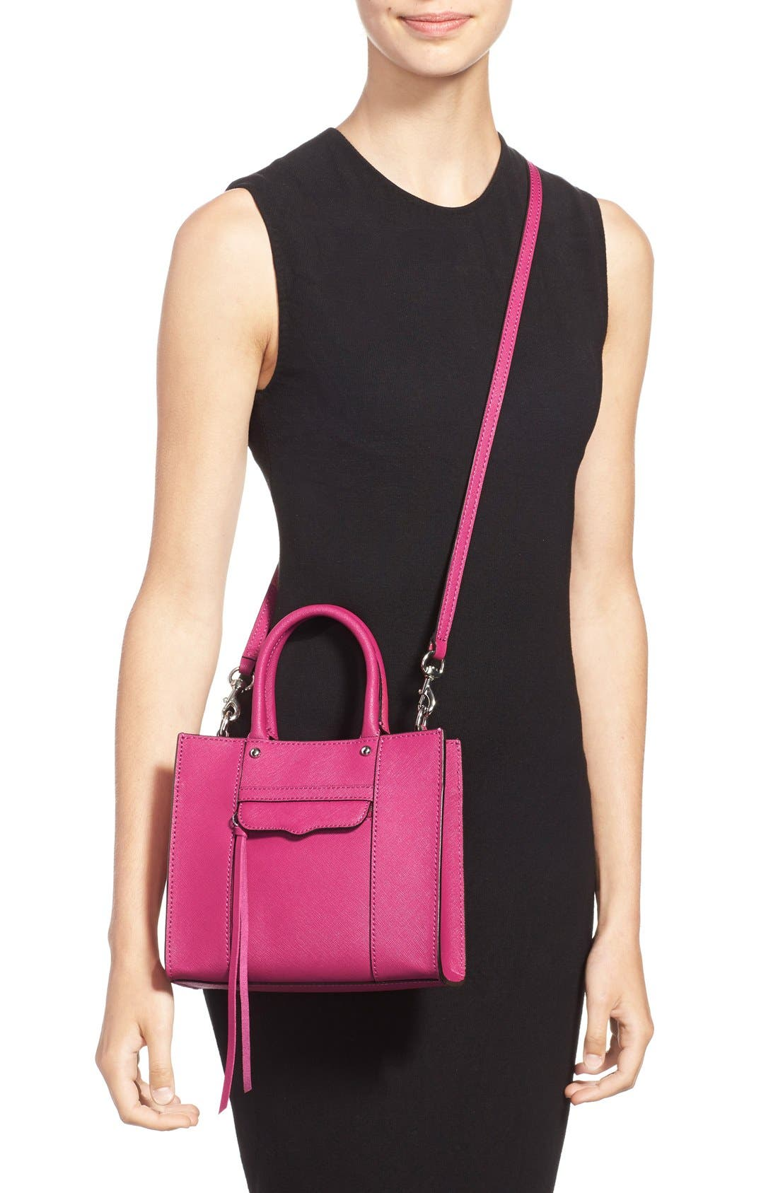 'Mini MAB Tote' Crossbody Bag,                             Alternate thumbnail 92, color,