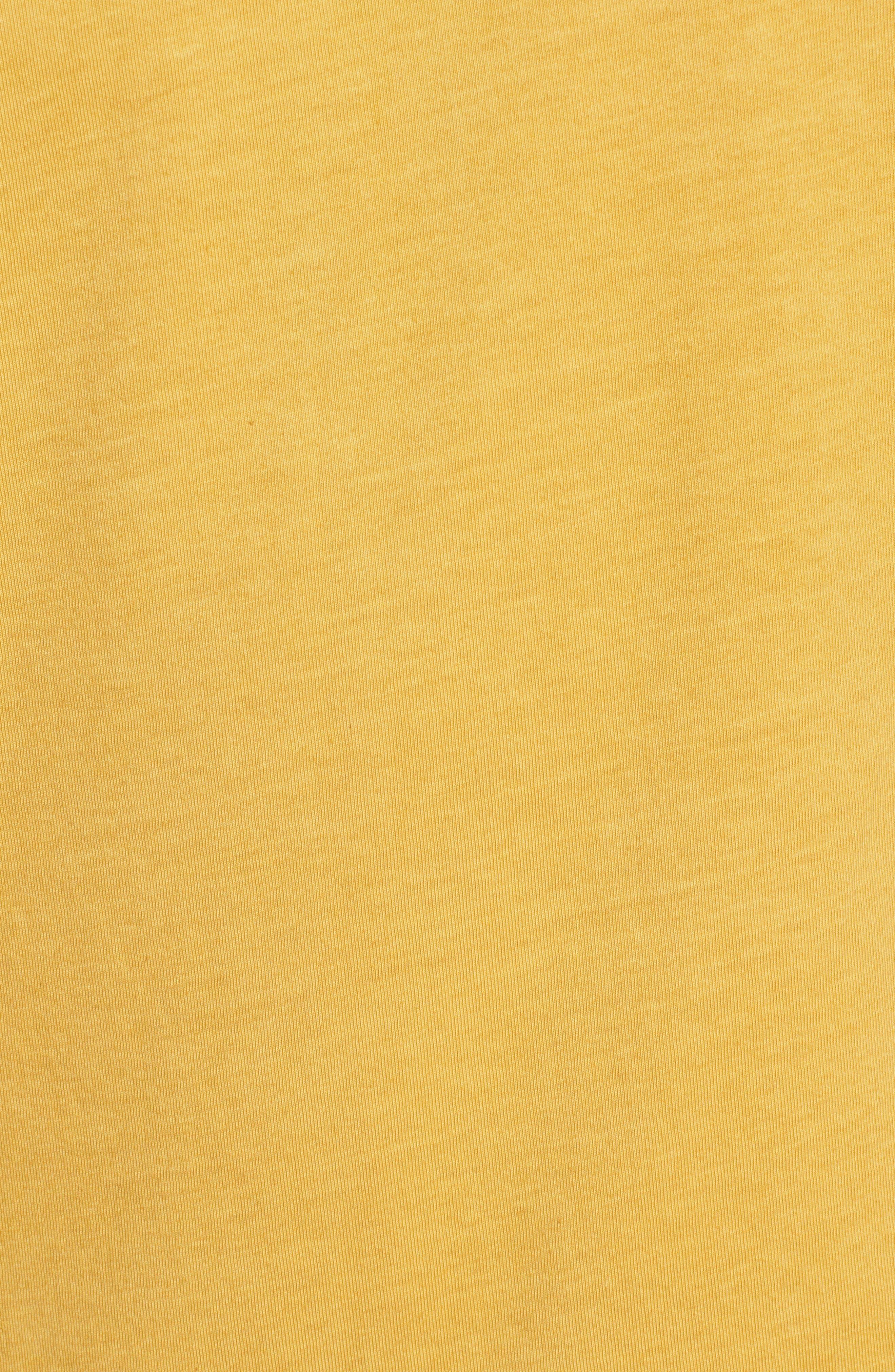 Reid T-Shirt,                             Alternate thumbnail 5, color,                             LEMON