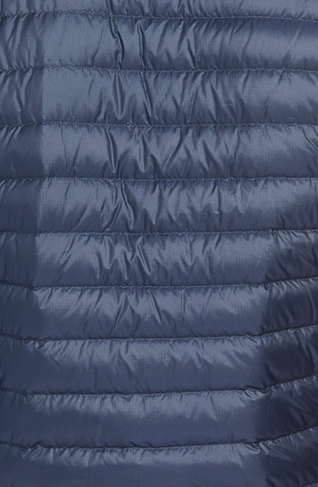 Water Repellent Down Jacket,                             Alternate thumbnail 55, color,