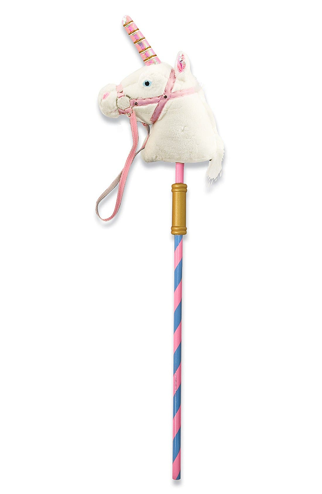 'Prance-n-Play' Stick Unicorn,                         Main,                         color, 650