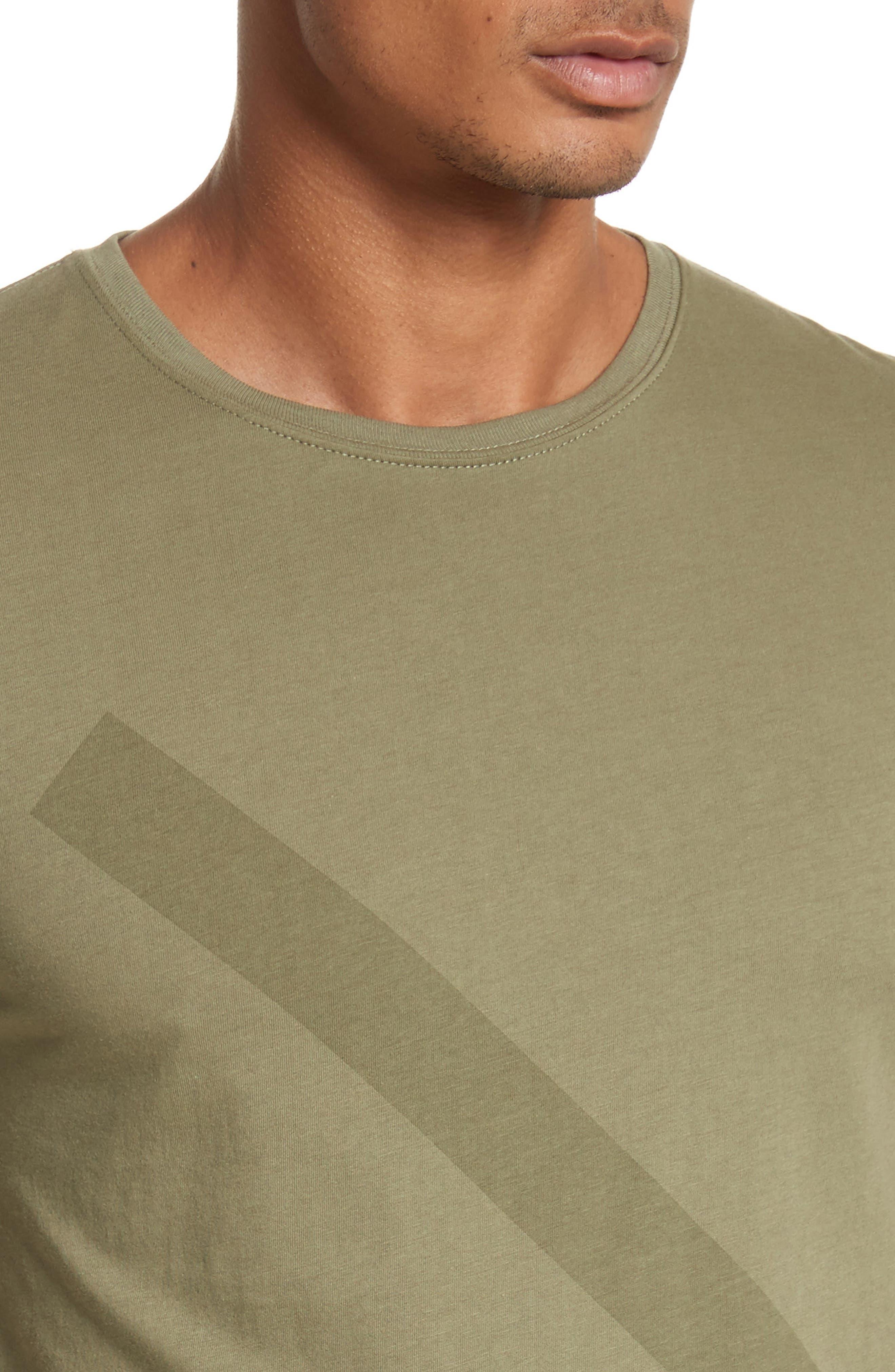 Tonal Slash Graphic T-Shirt,                             Alternate thumbnail 4, color,                             305