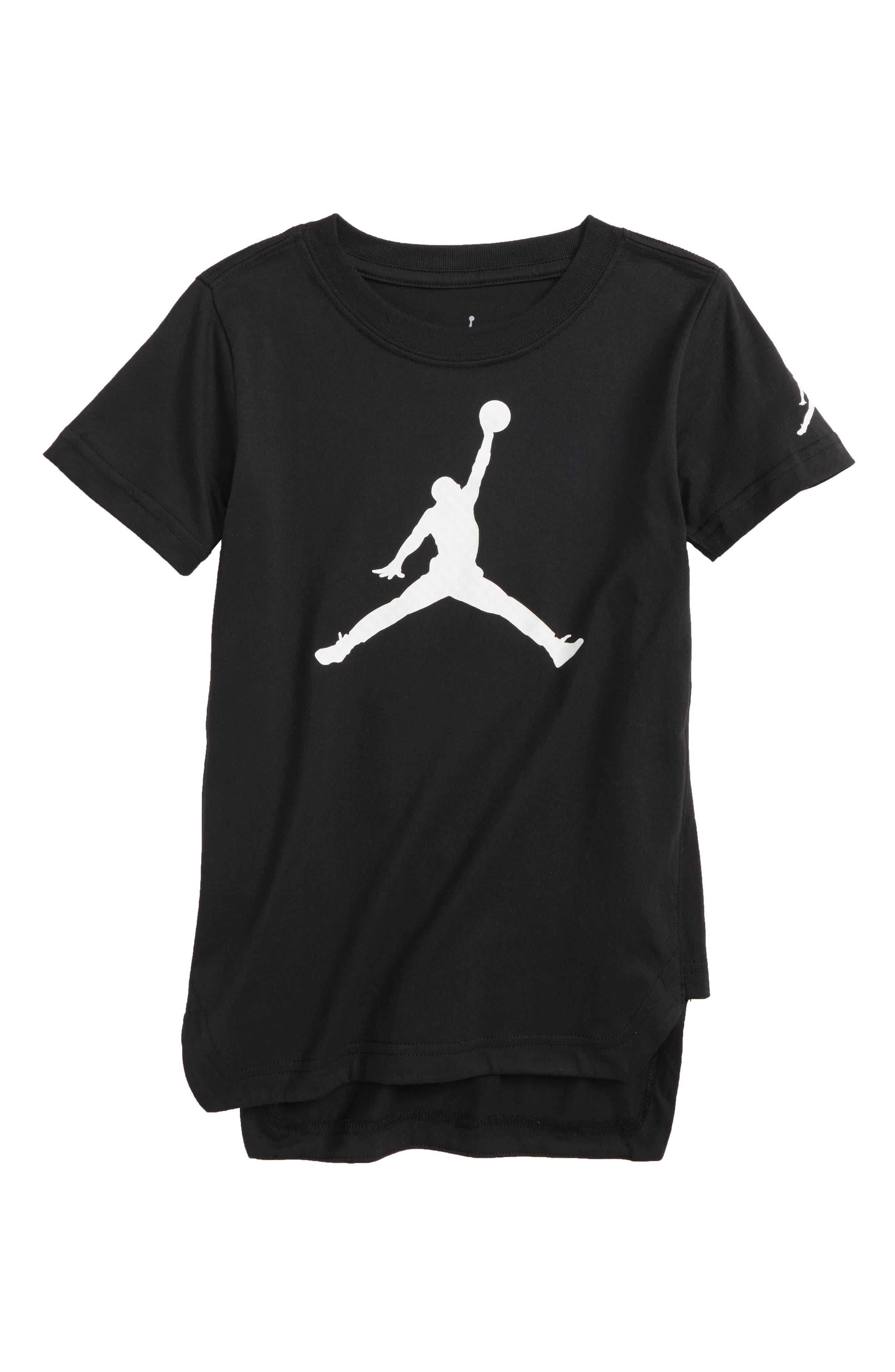 Jordan Jumpman Logo T-Shirt,                             Main thumbnail 1, color,                             004