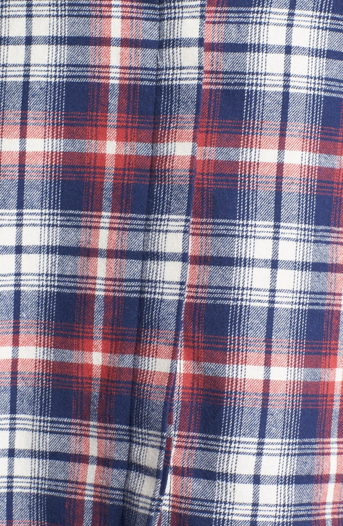OLIVE & OAK,                             Plaid Flannel Shirt,                             Alternate thumbnail 5, color,                             641