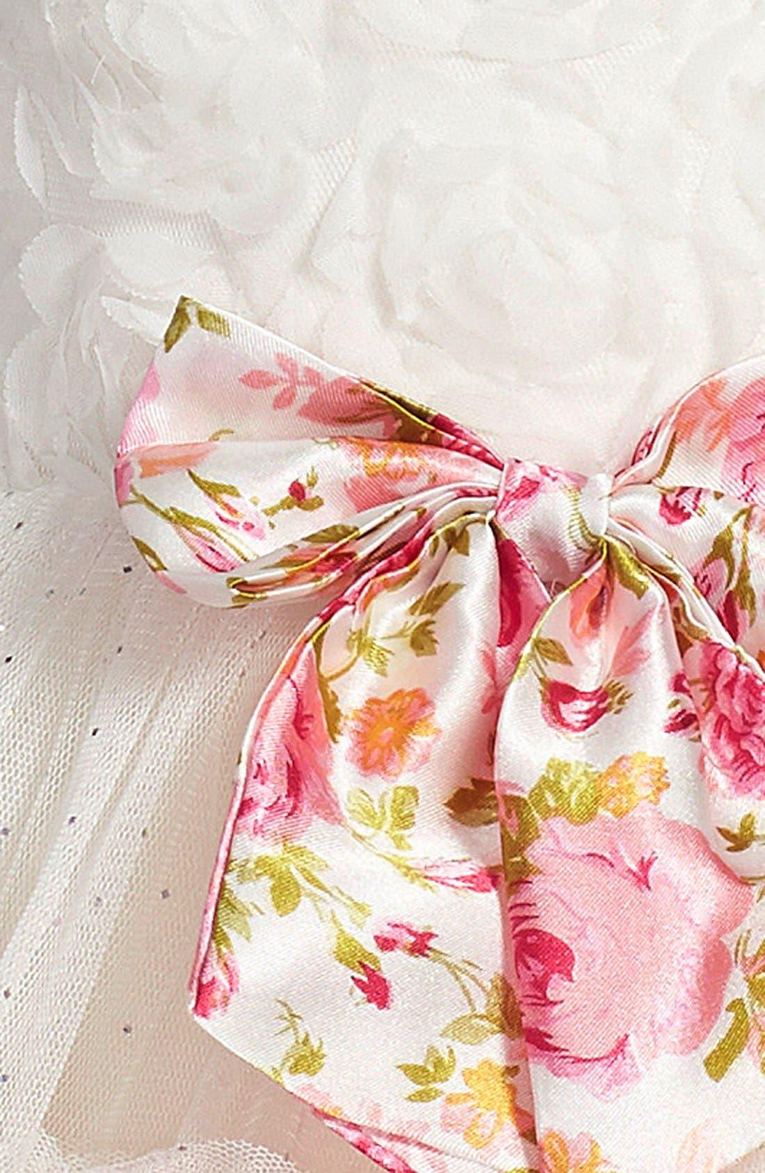Petticoat Skirt Tank Dress,                             Alternate thumbnail 3, color,                             110