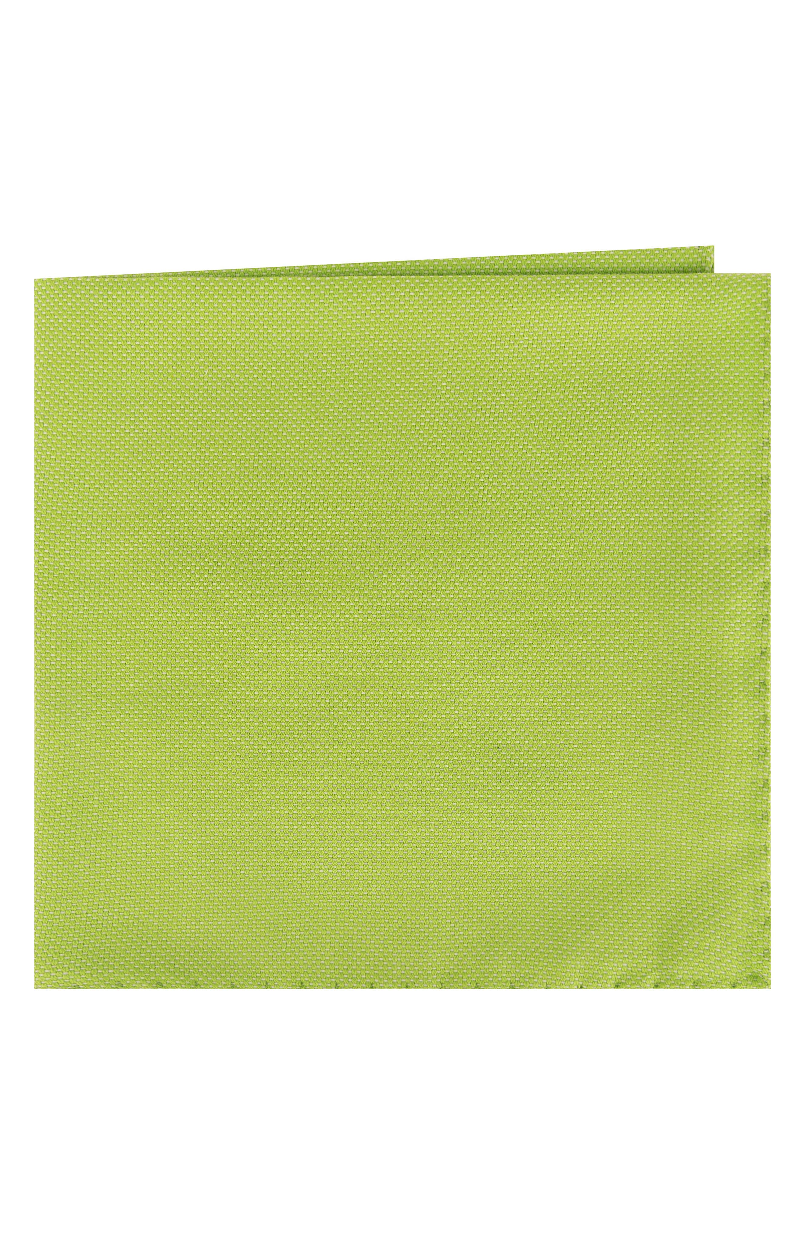 Solid Cotton Pocket Square,                         Main,                         color,