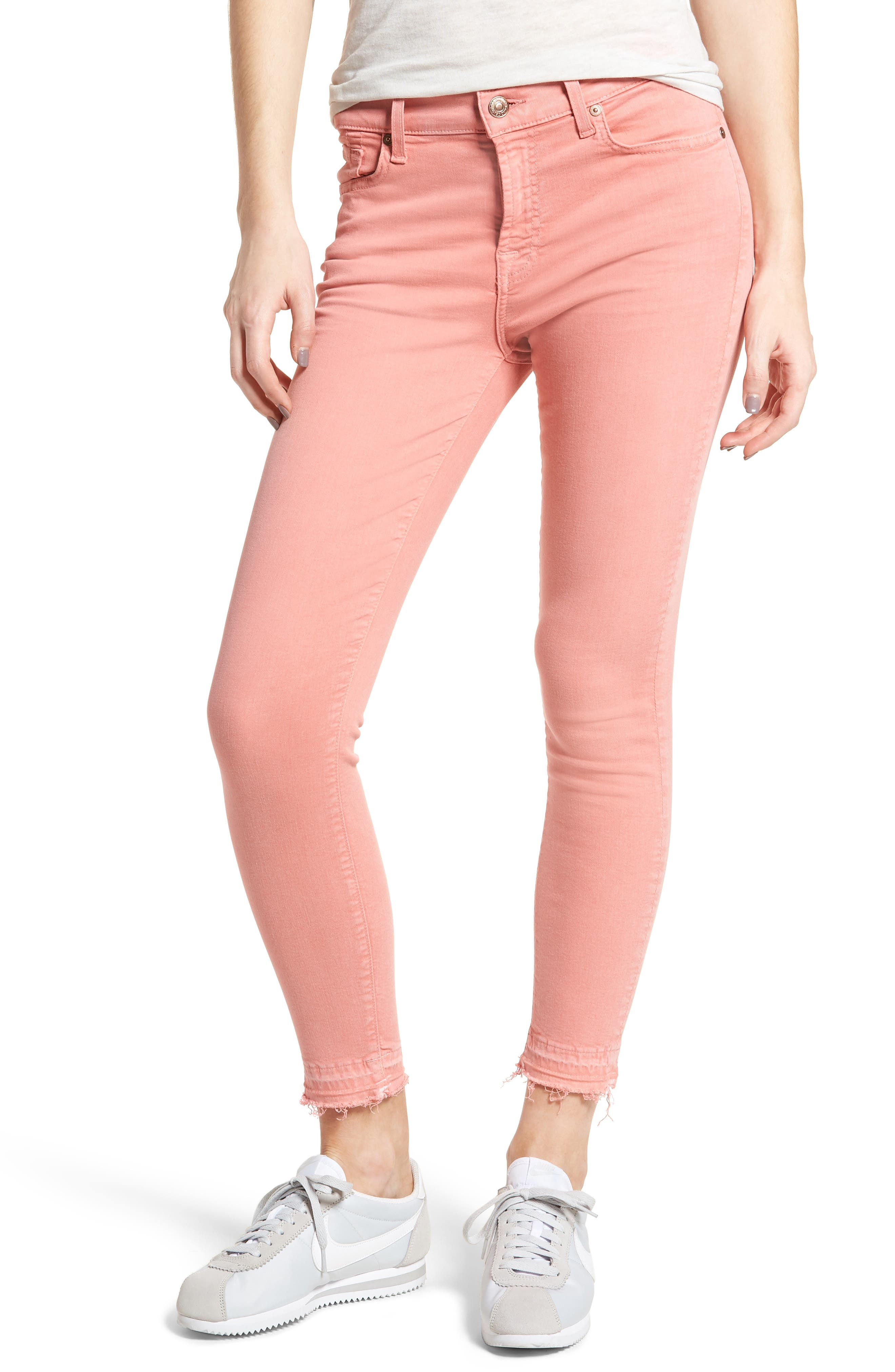 Released Hem Ankle Skinny Jeans,                             Main thumbnail 6, color,