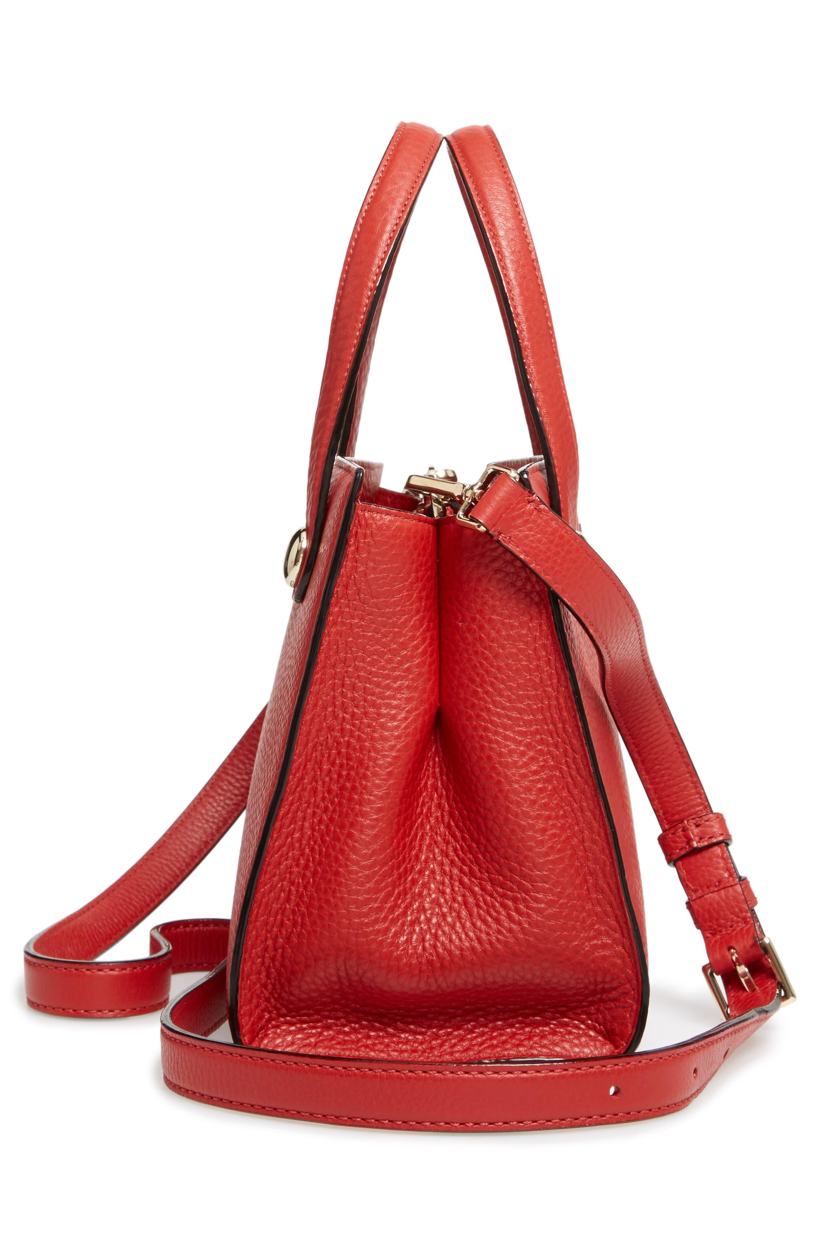 stewart street - little joy leather satchel,                             Alternate thumbnail 4, color,                             631