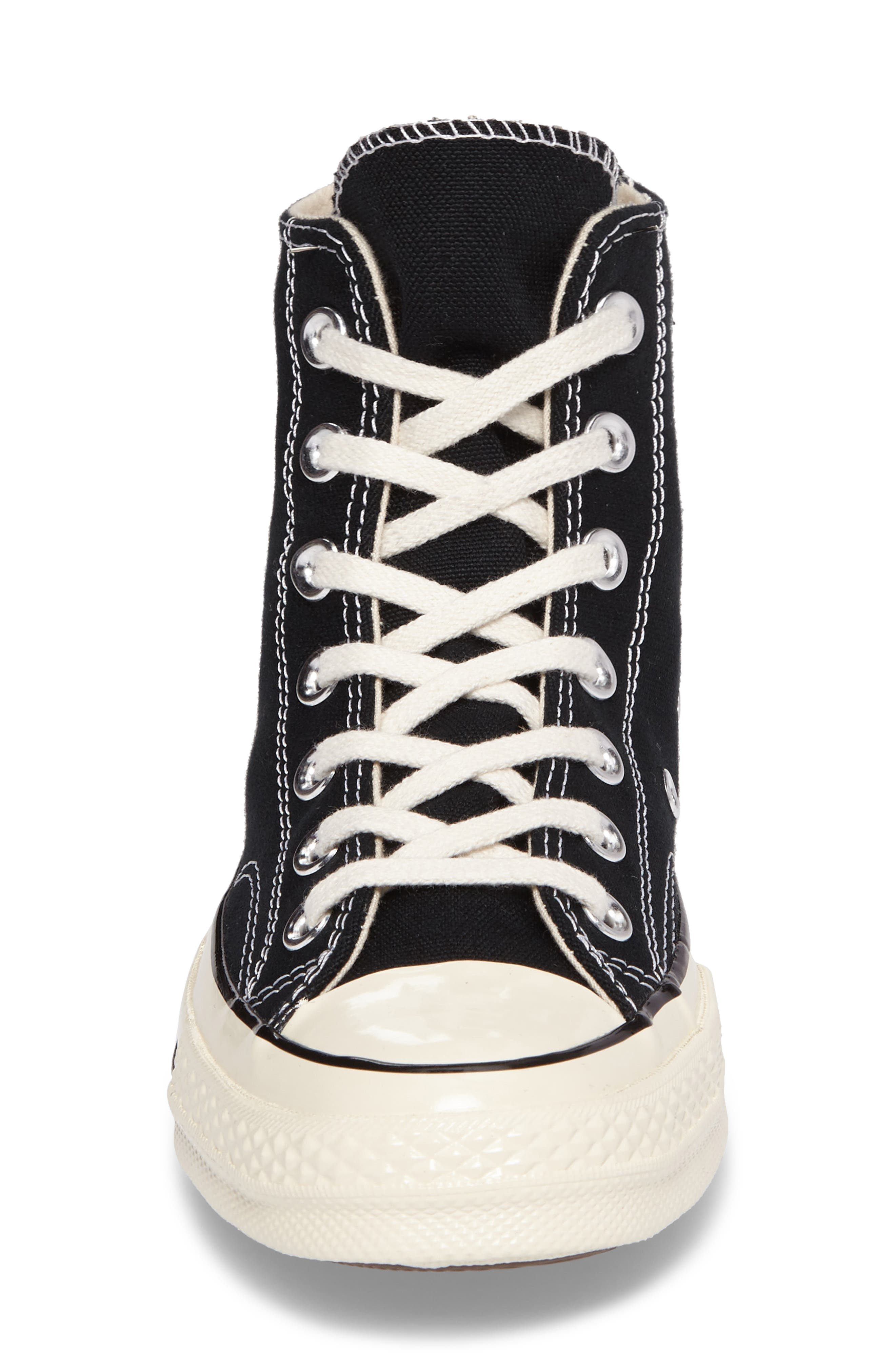 Chuck Taylor<sup>®</sup> All Star<sup>®</sup> '70 High Top Sneaker,                             Alternate thumbnail 4, color,                             001