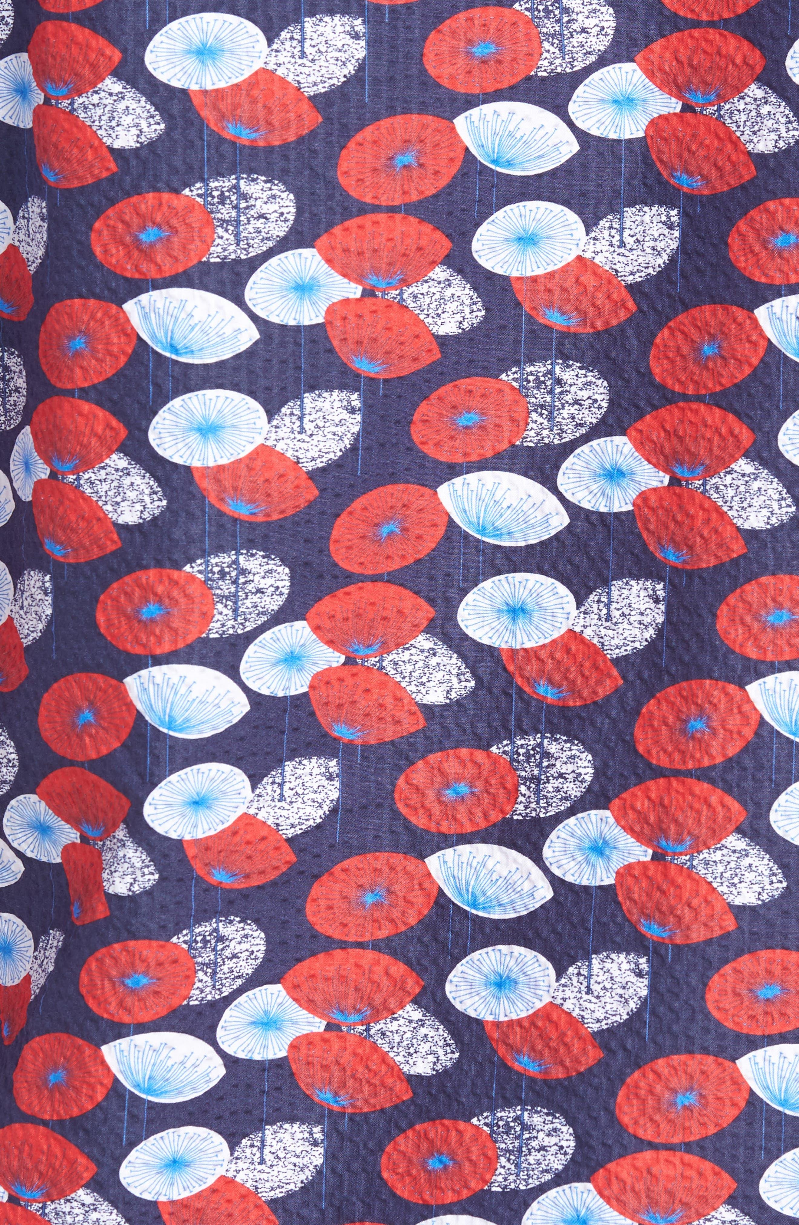 Woven Sport Shirt,                             Alternate thumbnail 5, color,                             411
