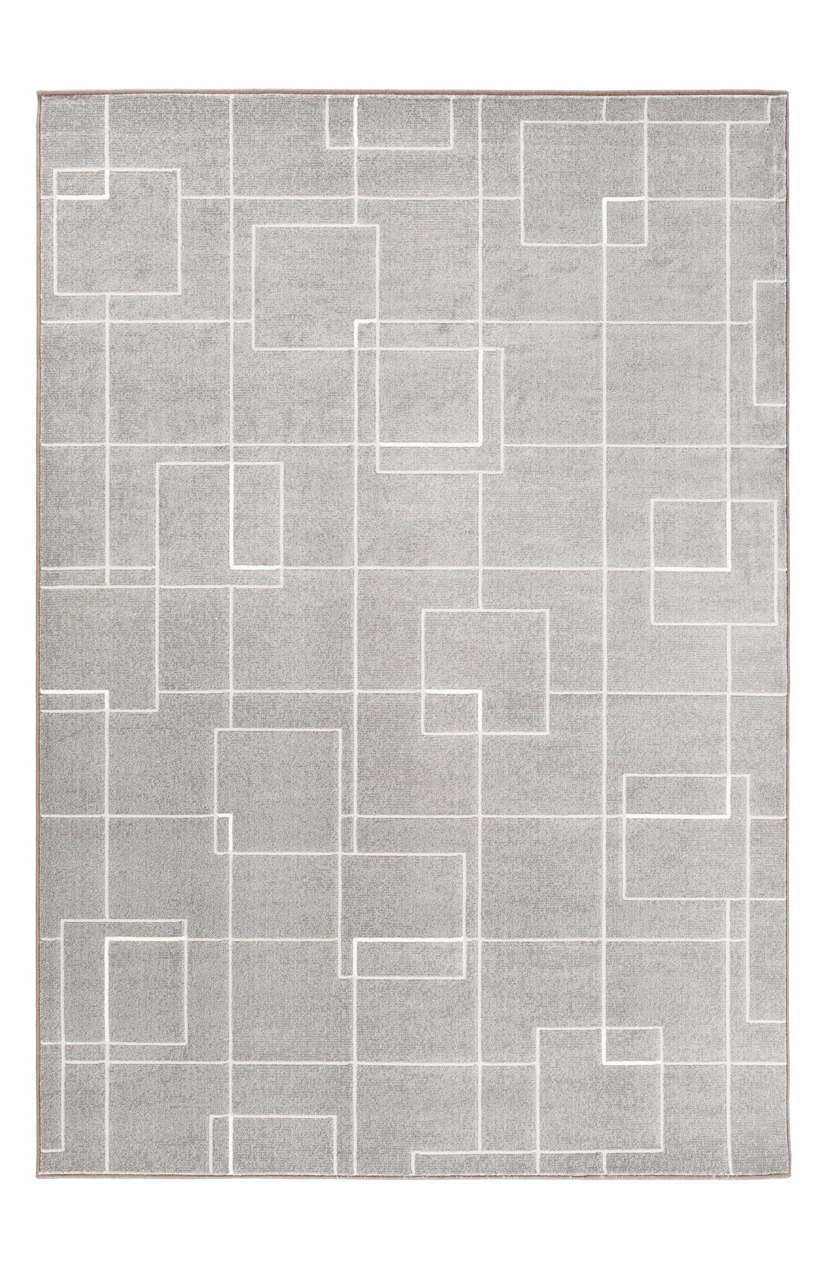 Modern Grid Rug,                             Main thumbnail 1, color,                             020